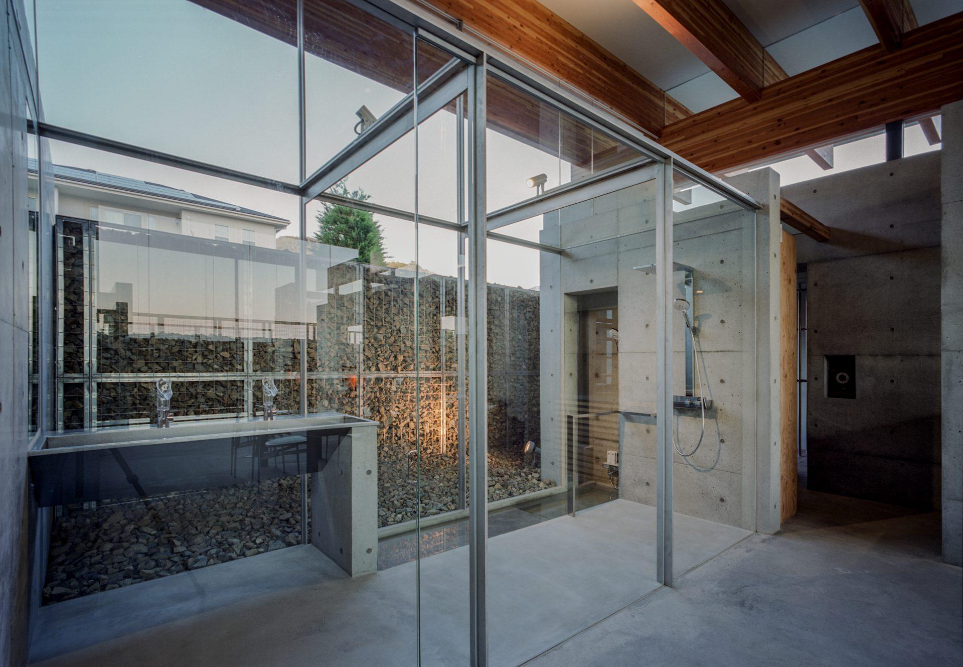 兵庫神戸北の平屋のシャワールーム