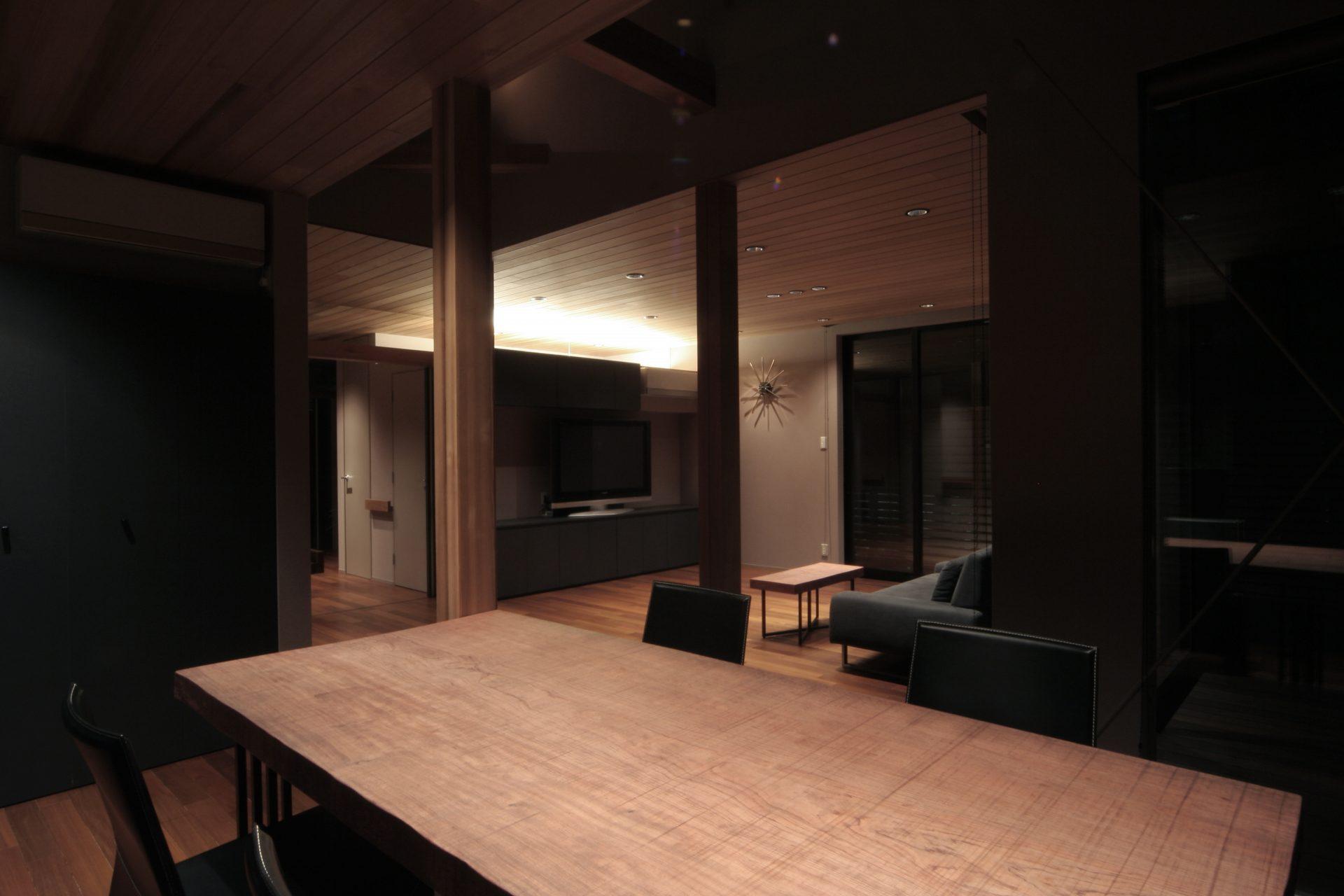 大阪弥刀の家のLDK05
