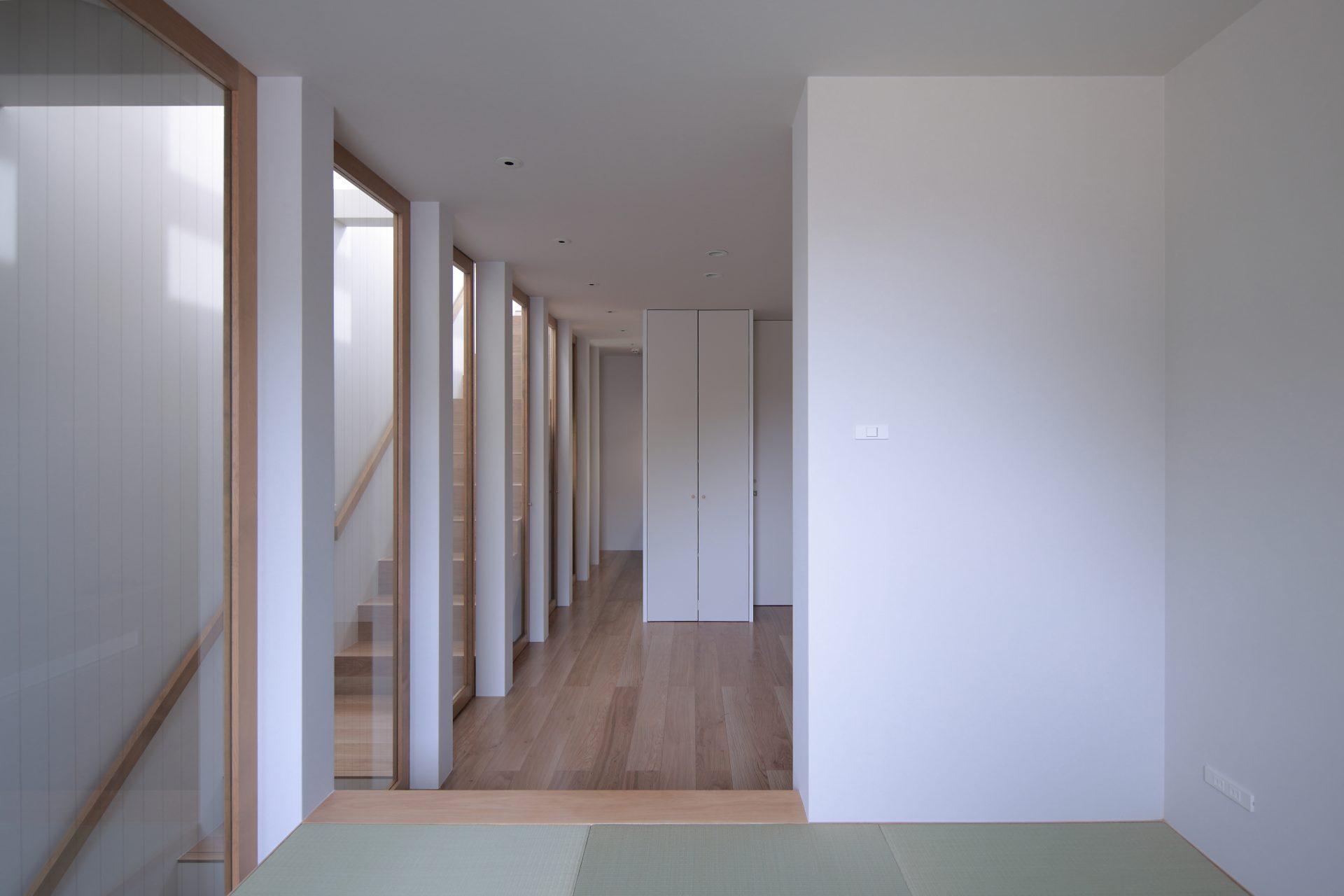 兵庫塚口の家の和室02