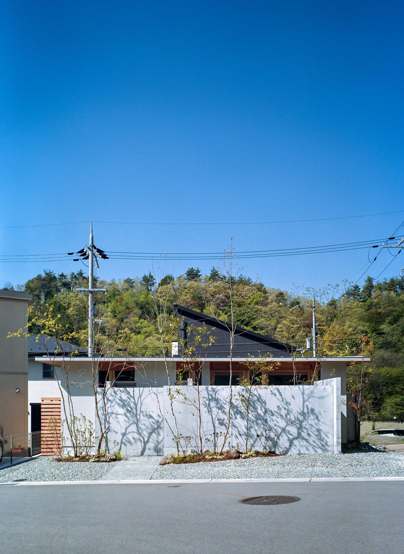 大阪箕面森町の家の外観2