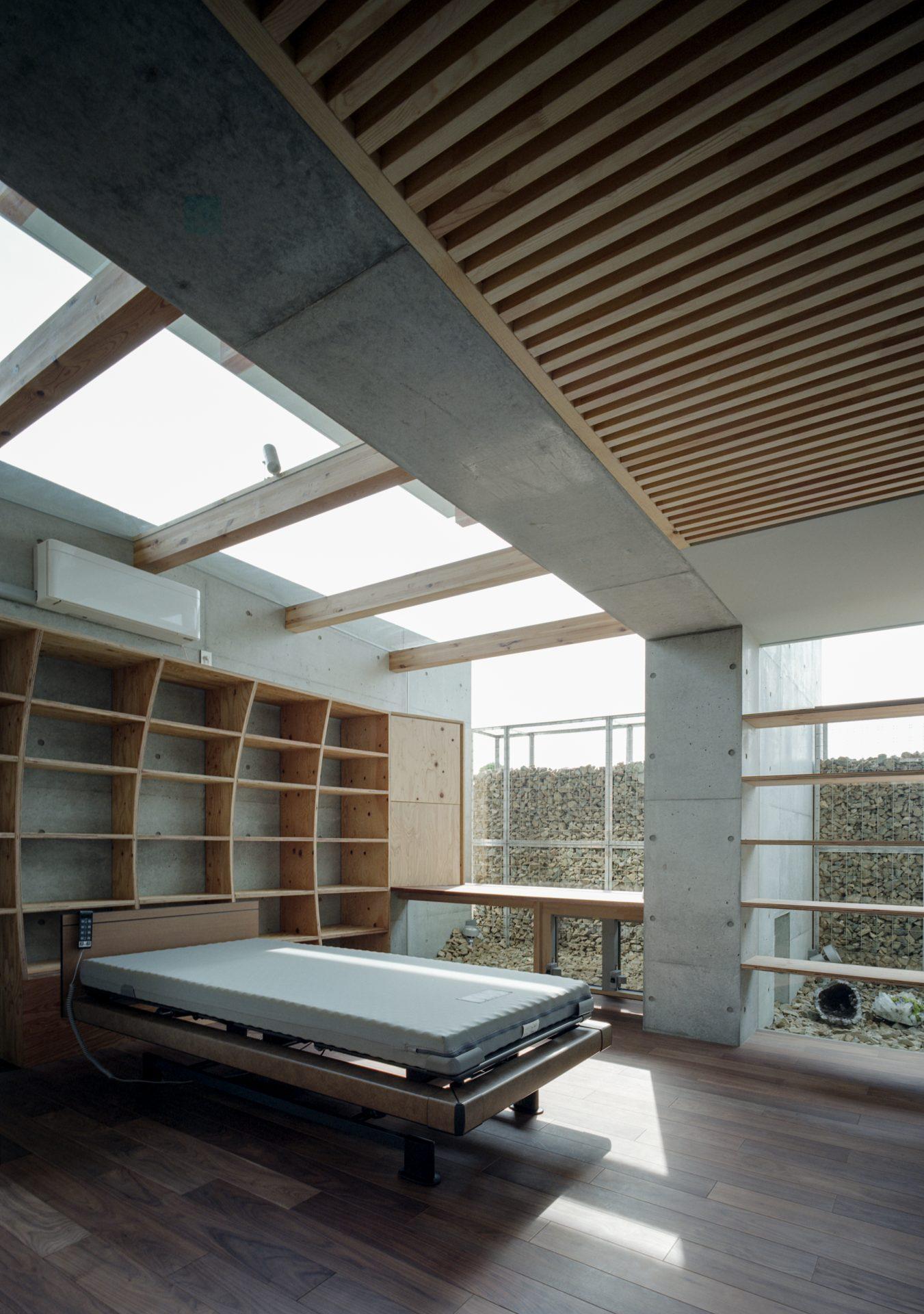 兵庫神戸北の平屋の寝室01