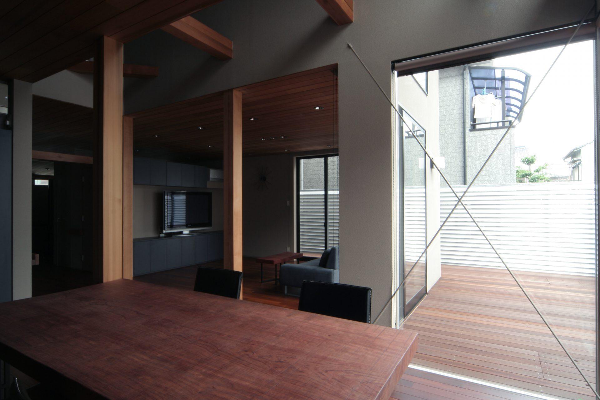 大阪弥刀の家のLDK06