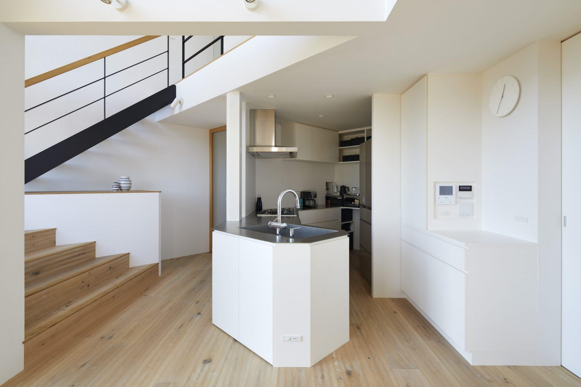 大阪箕面北の家のキッチン01