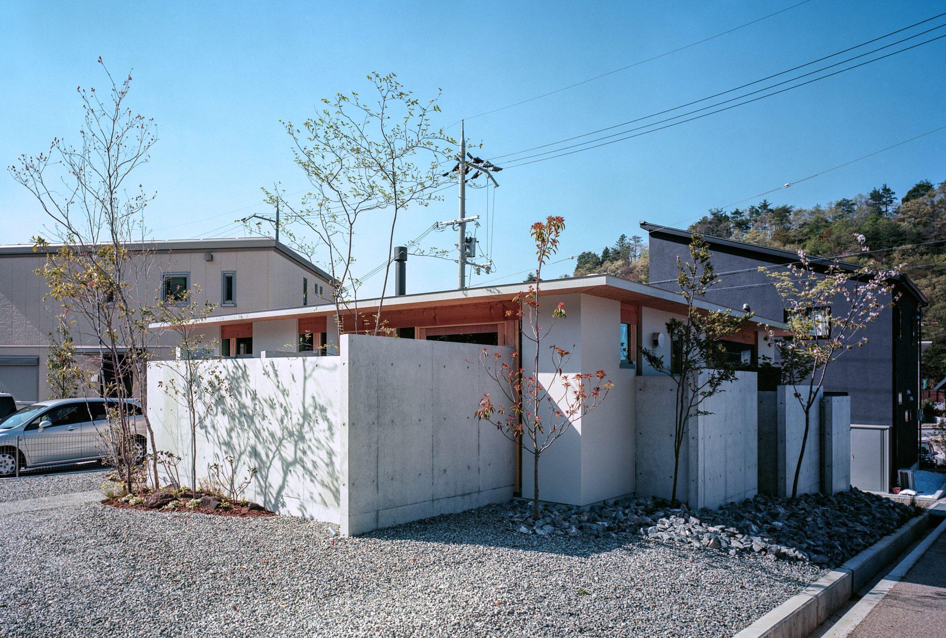 大阪箕面森町の家の外観1