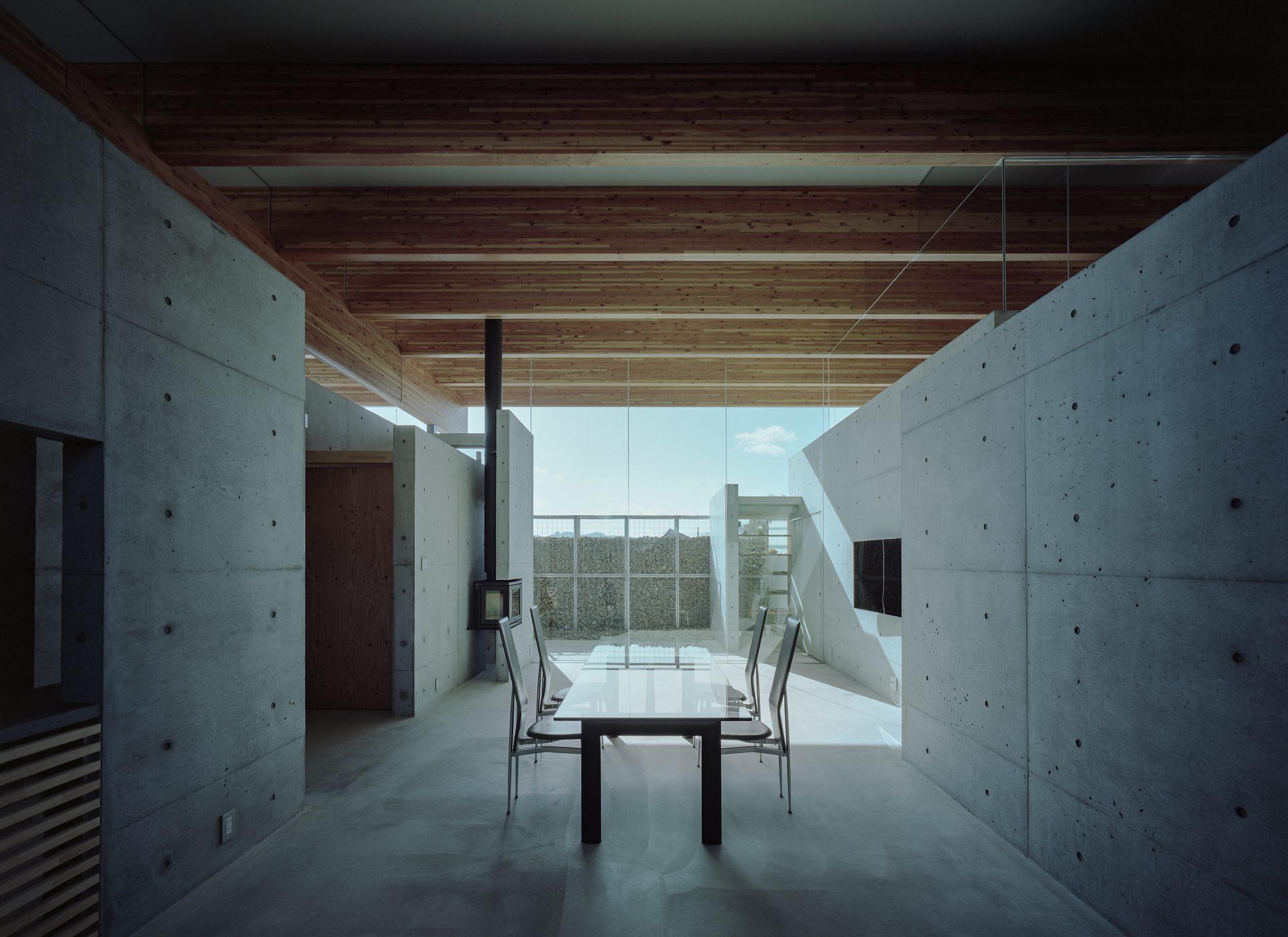 兵庫神戸北の平屋のリビング01