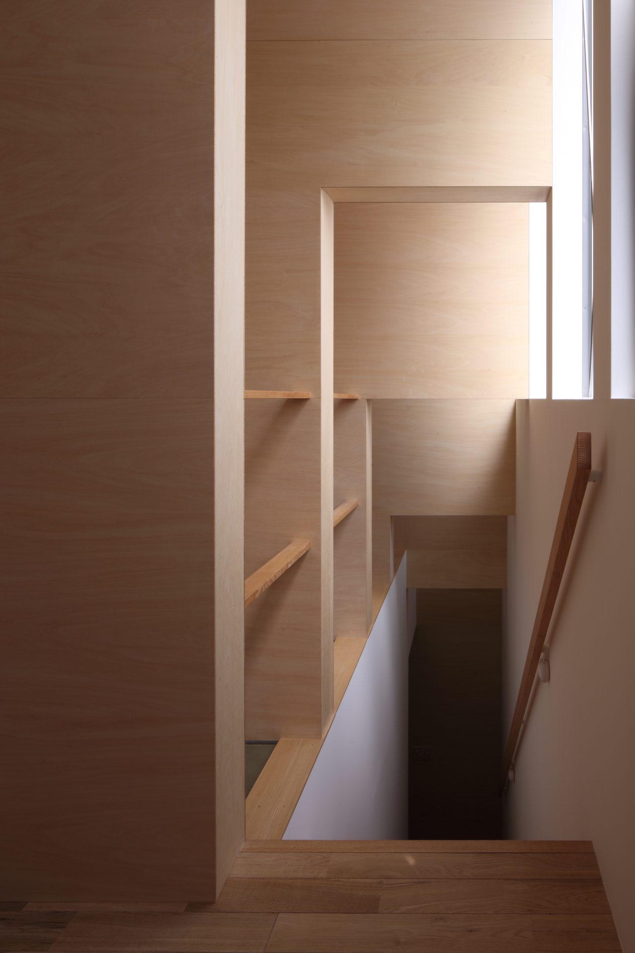 大阪北野田の家の階段