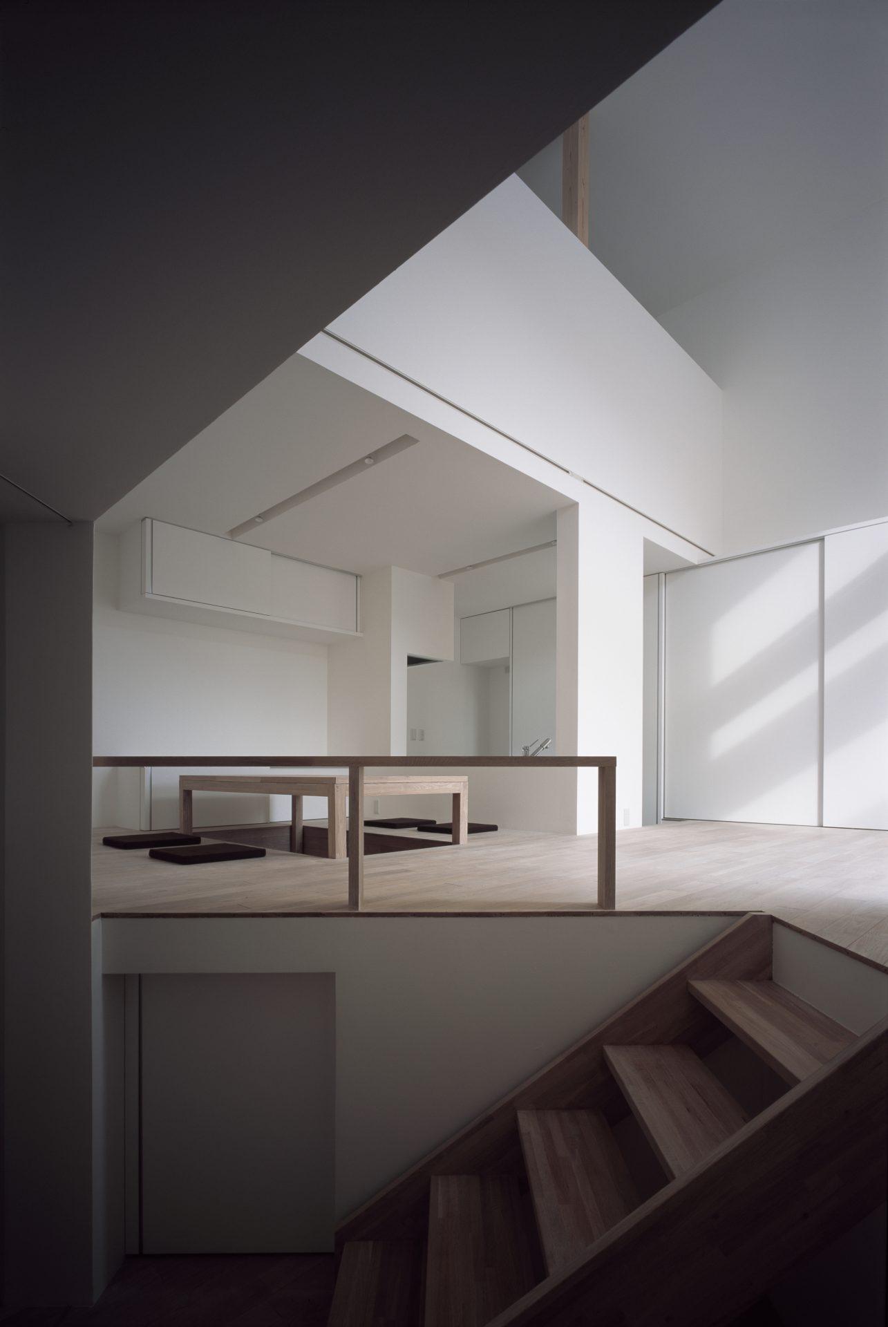 福井小浜の家の階段
