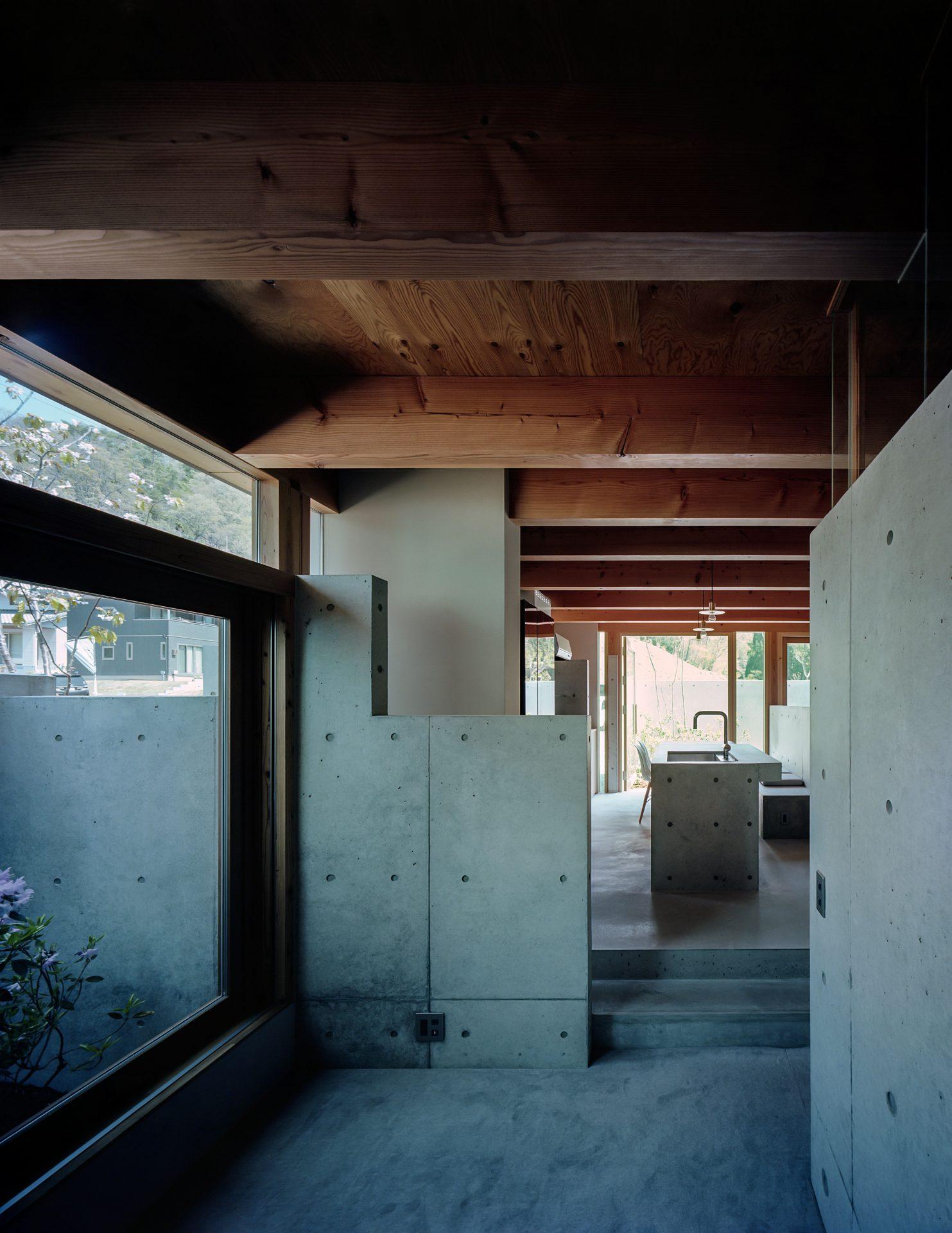 大阪箕面森町の家のリビング3