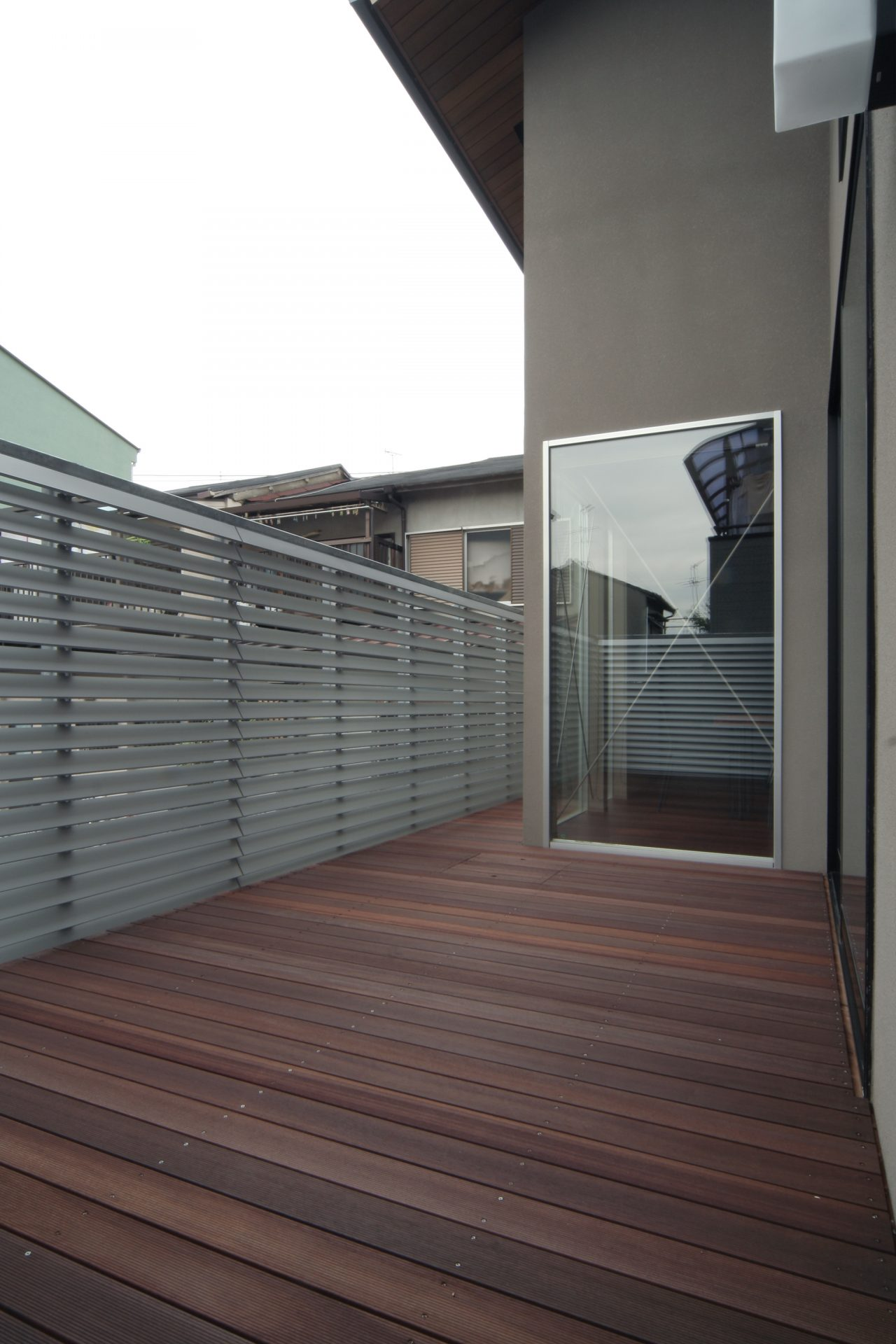 大阪弥刀の家のバルコニー02