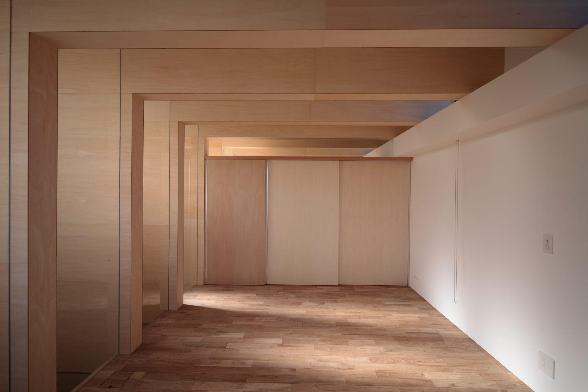 大阪北野田の家の寝室01