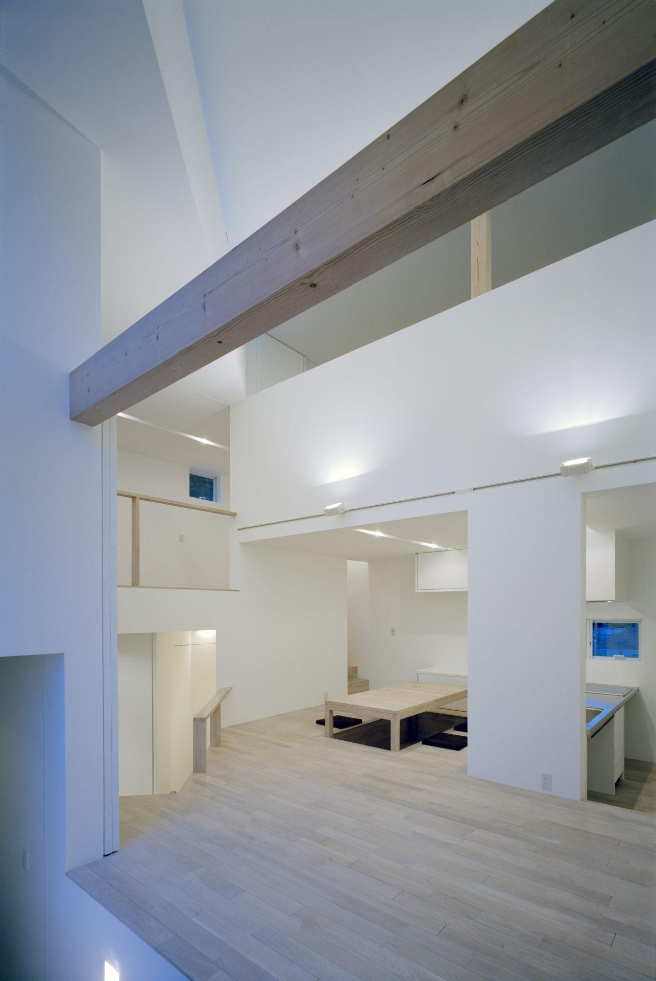 福井小浜の家のリビング01