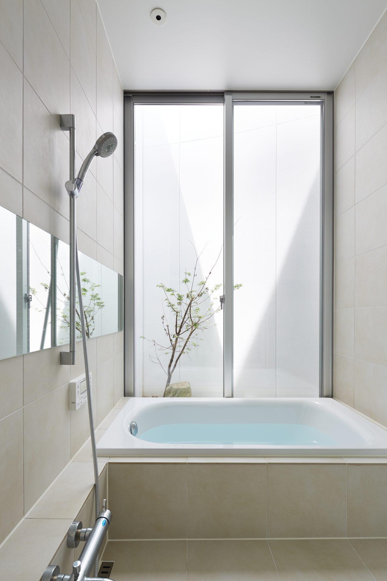 徳島藍住BASEの浴室