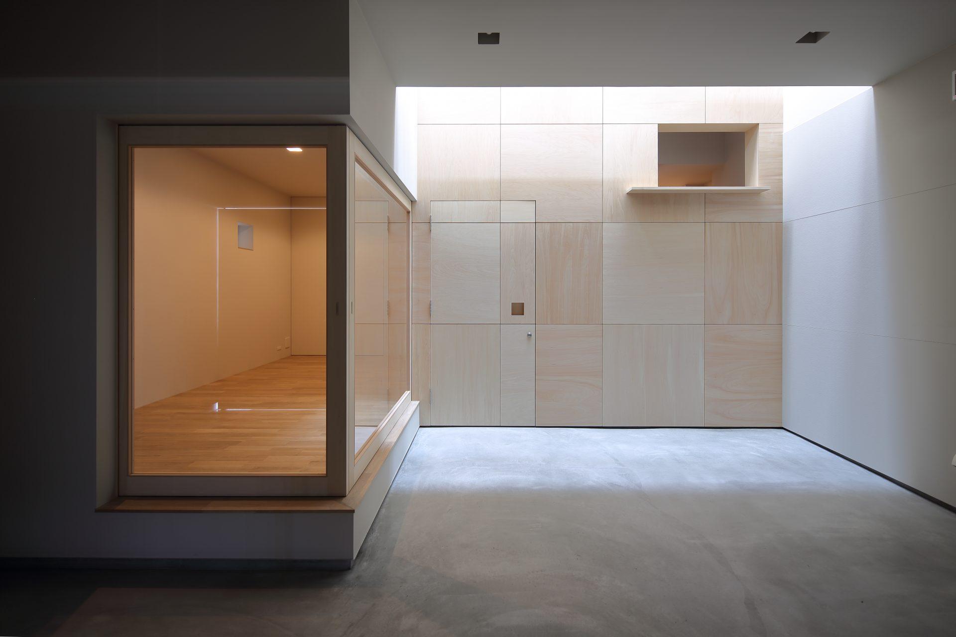 兵庫西宮のリノベーションのガレージ01