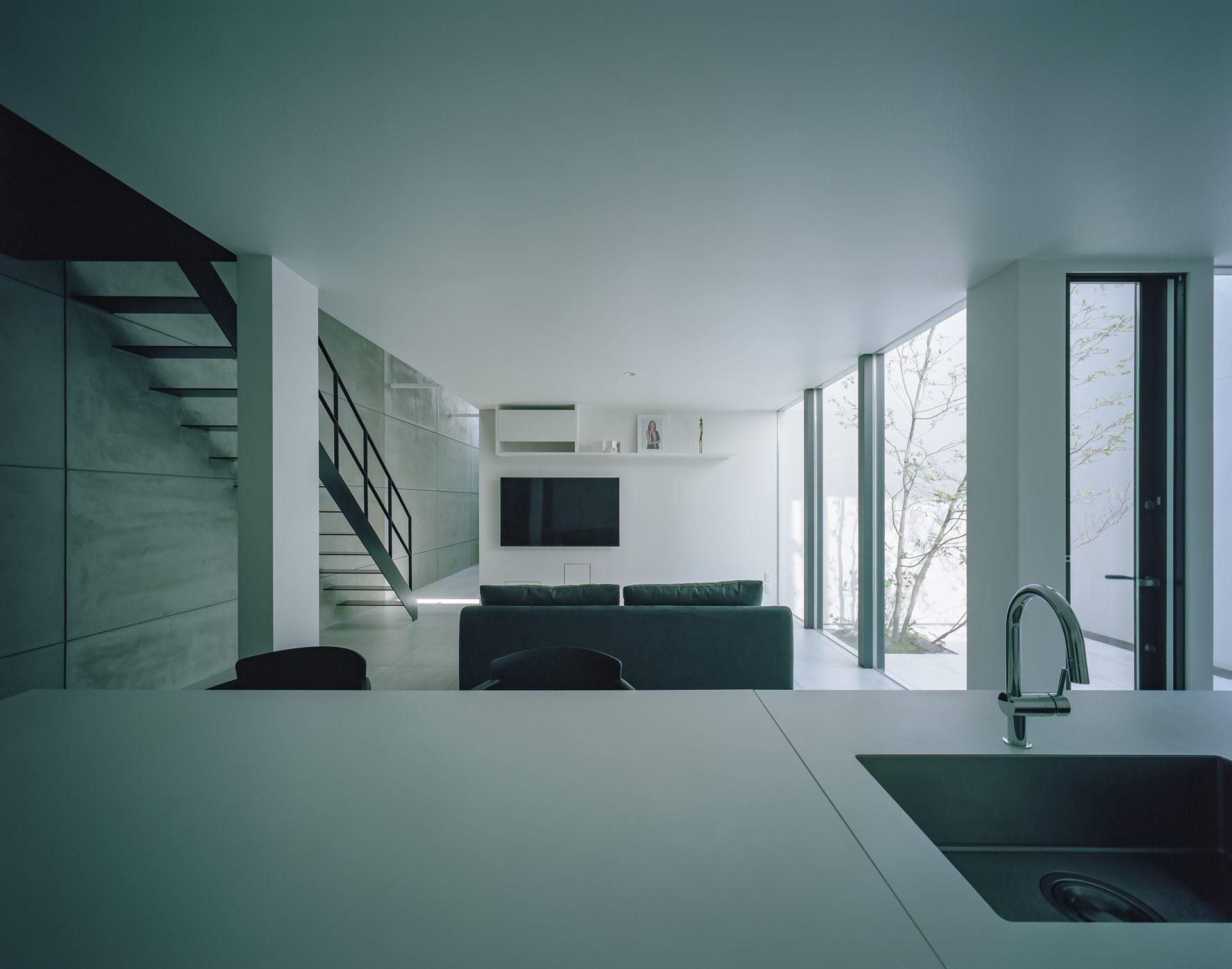 大阪河内長野のコートハウスのLDK05