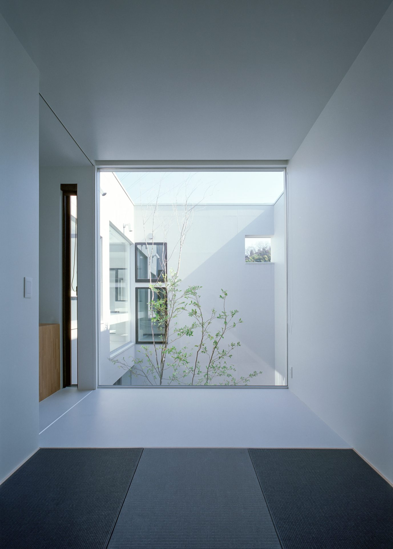 大阪河内長野のコートハウスの畳室