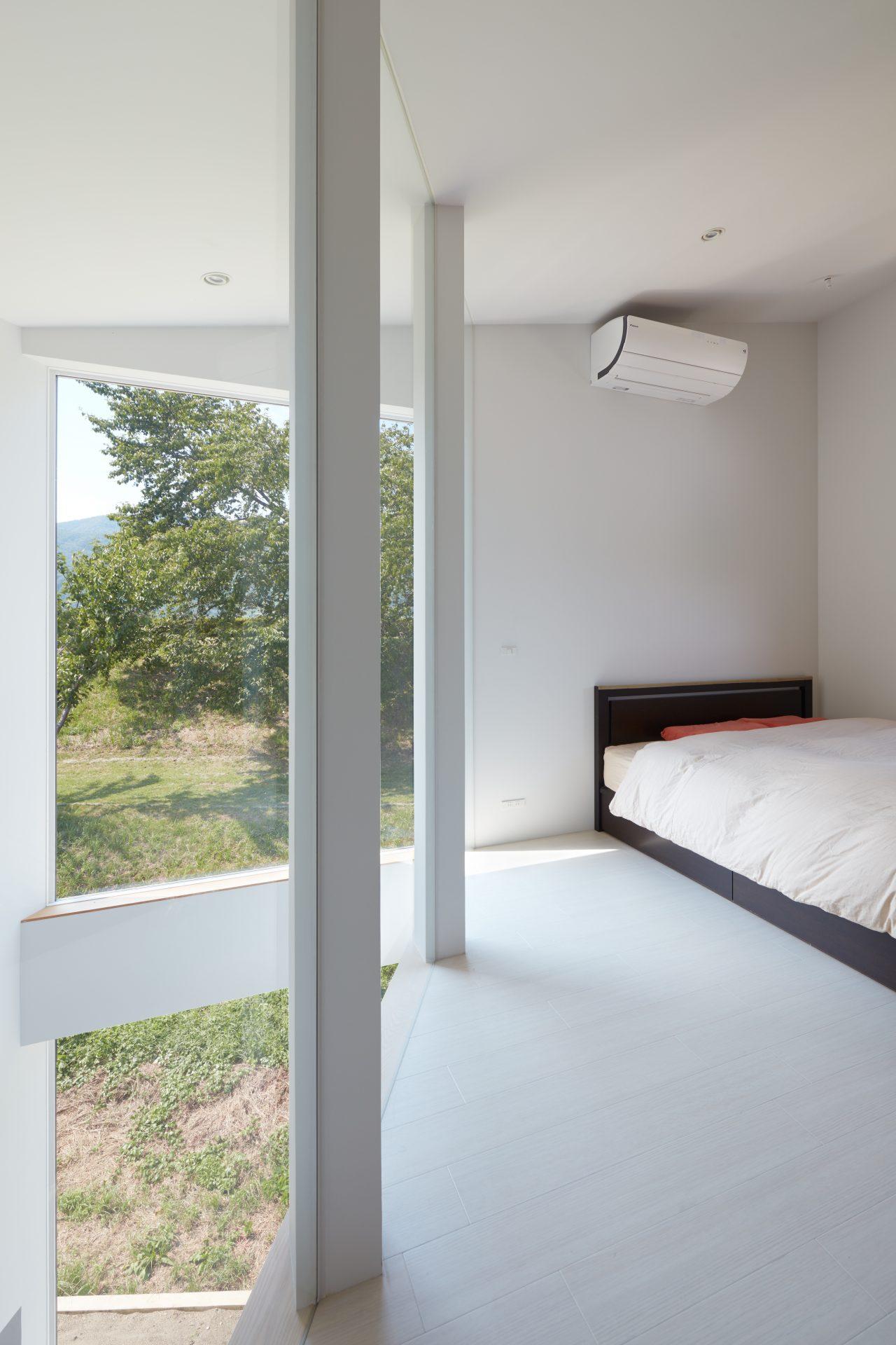 長野千曲の家の寝室