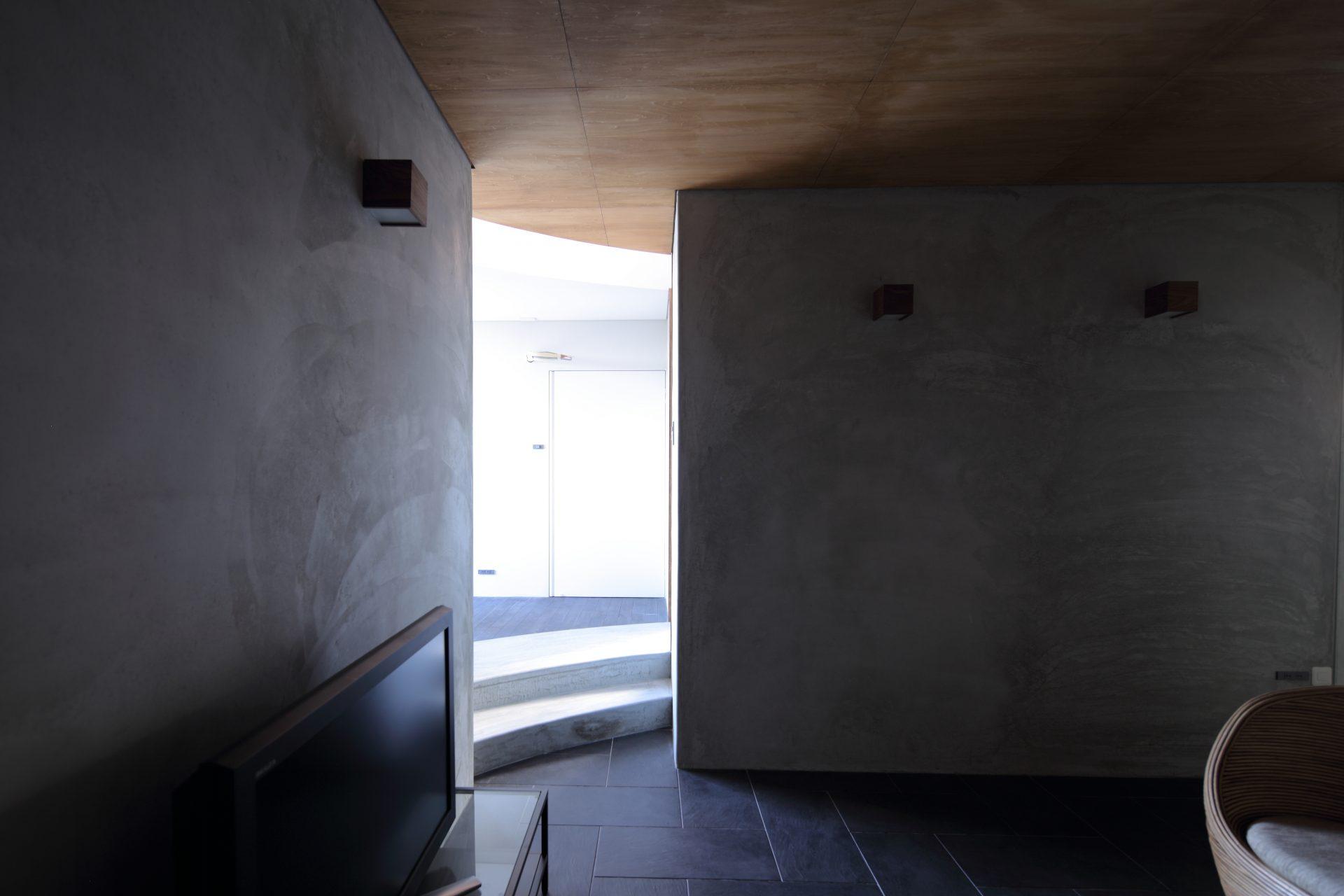 広島福山の家のリビング02
