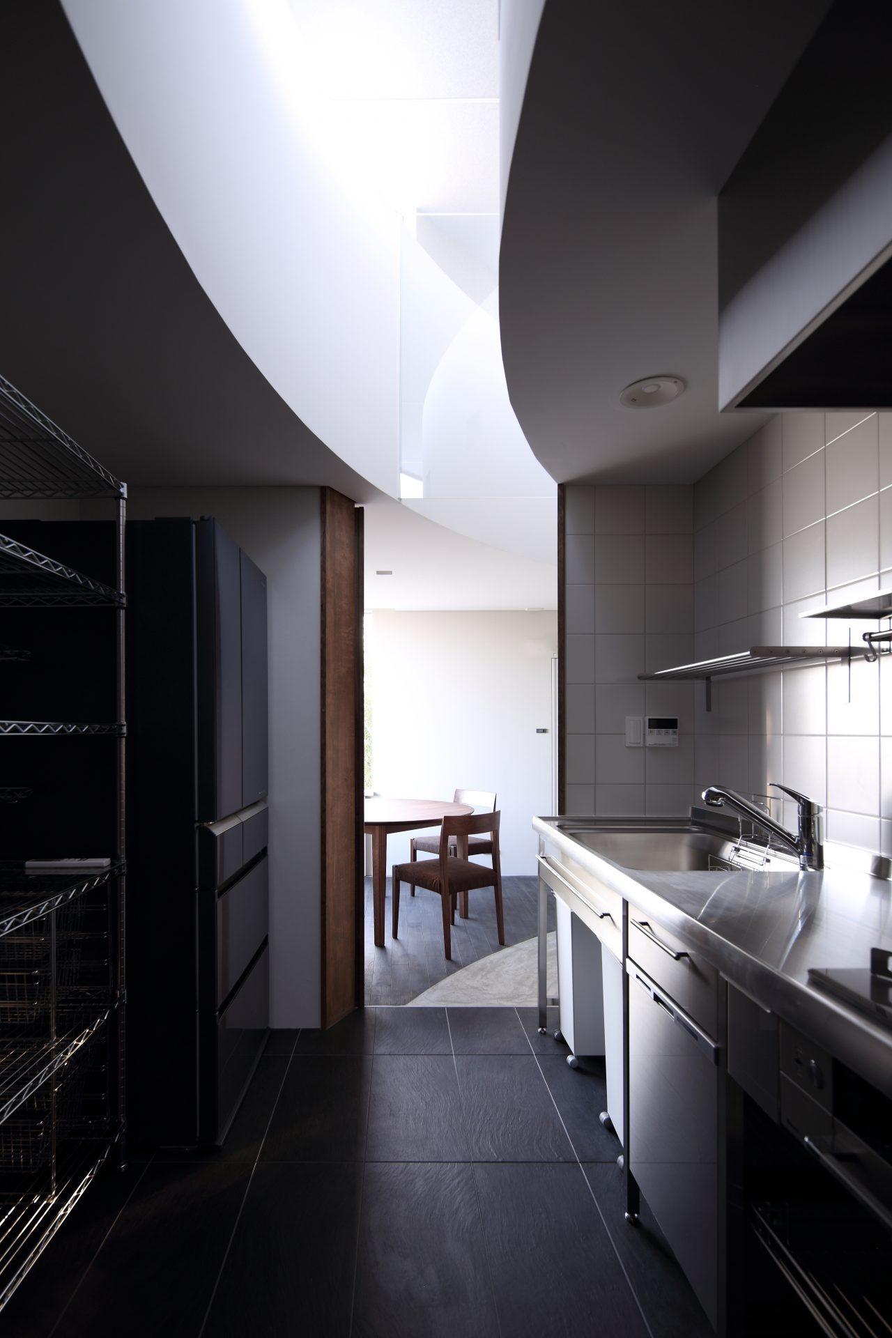 広島福山の家のキッチン