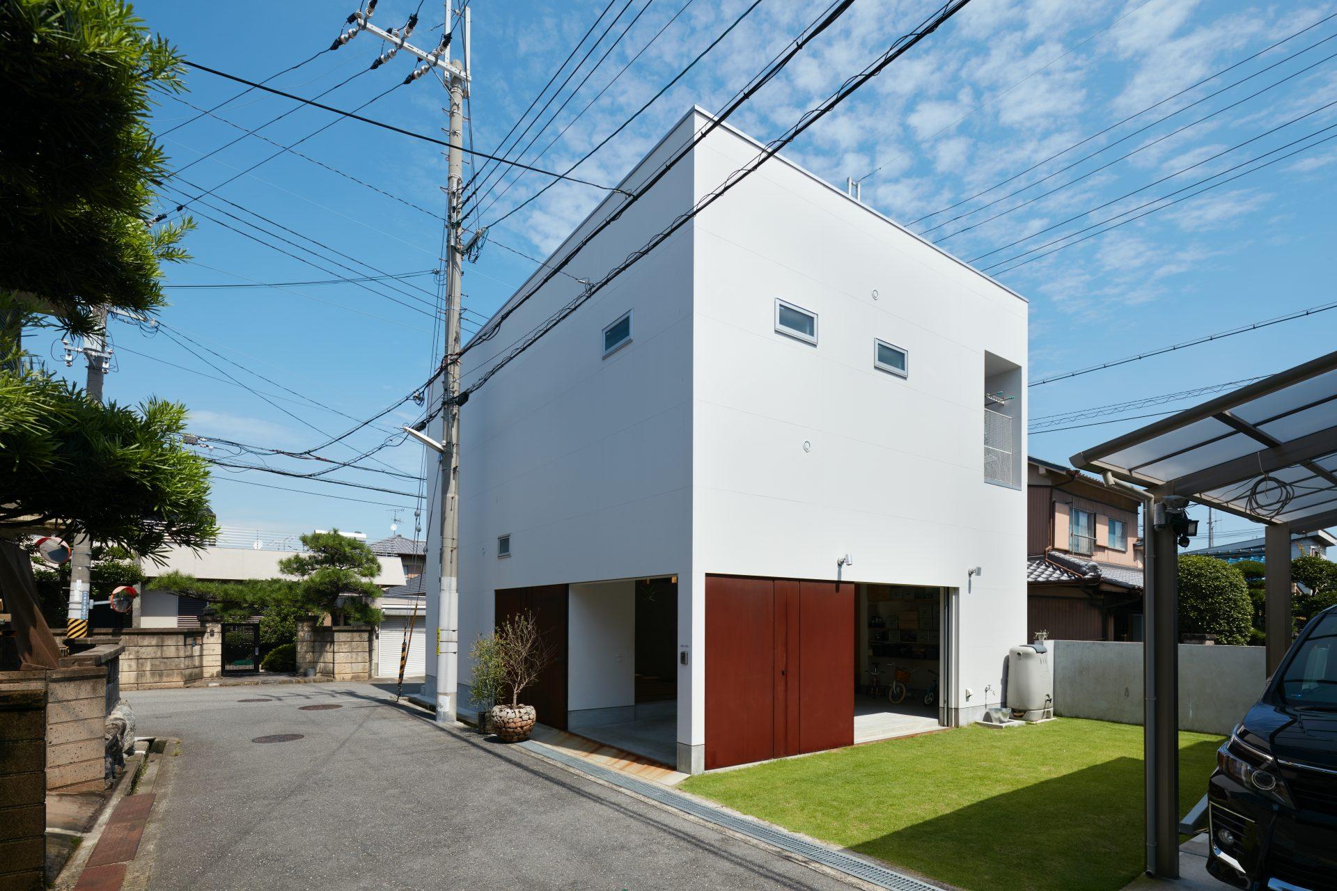 大阪松原の家の外観