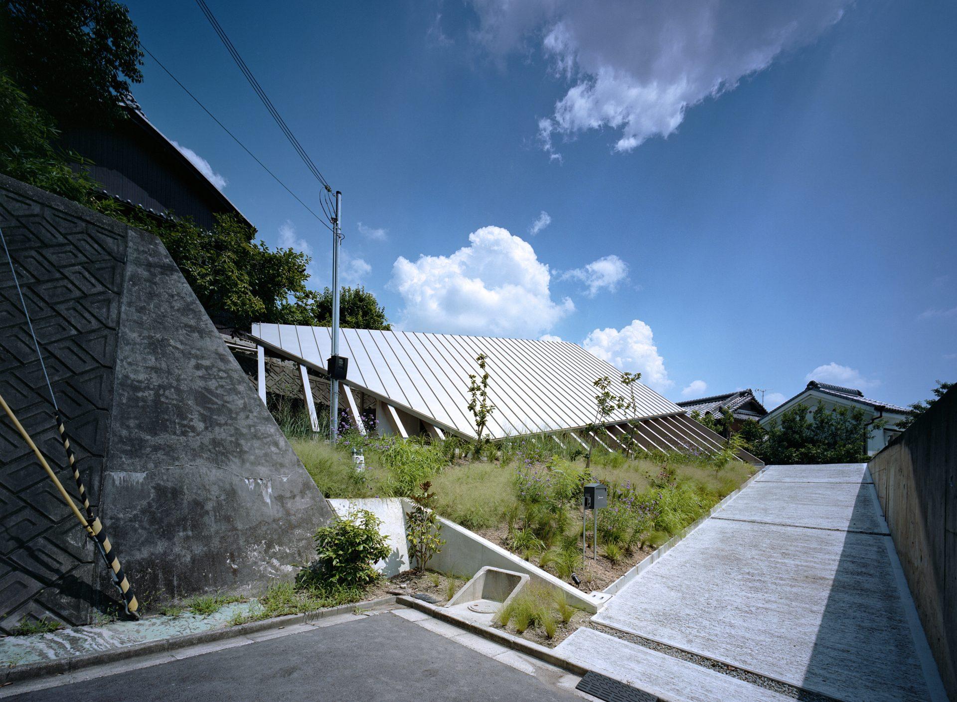 奈良学園前の家の外観02