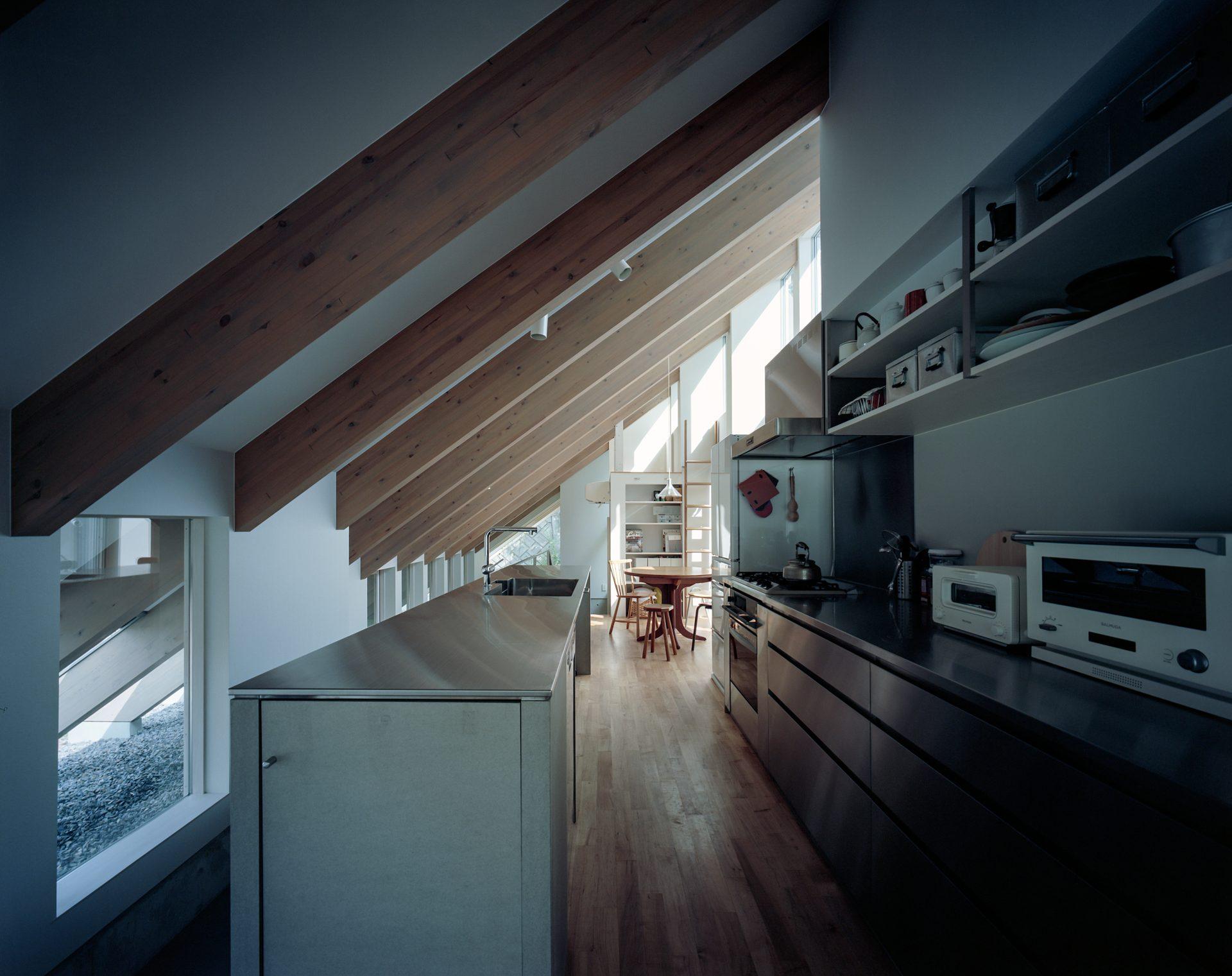 奈良学園前の家のキッチン01