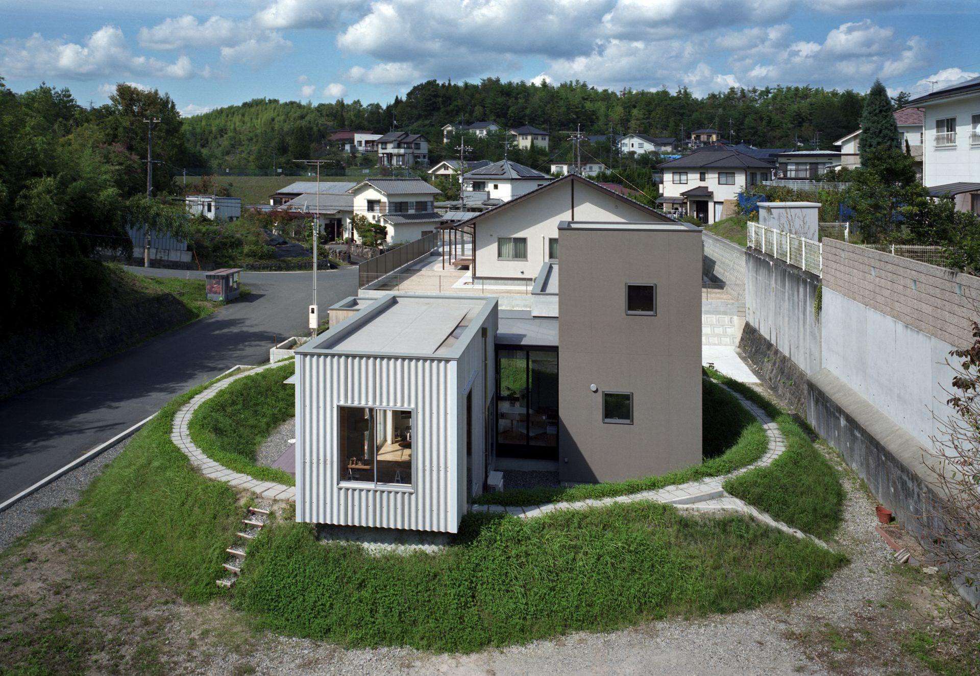 広島東広島の家の外観05