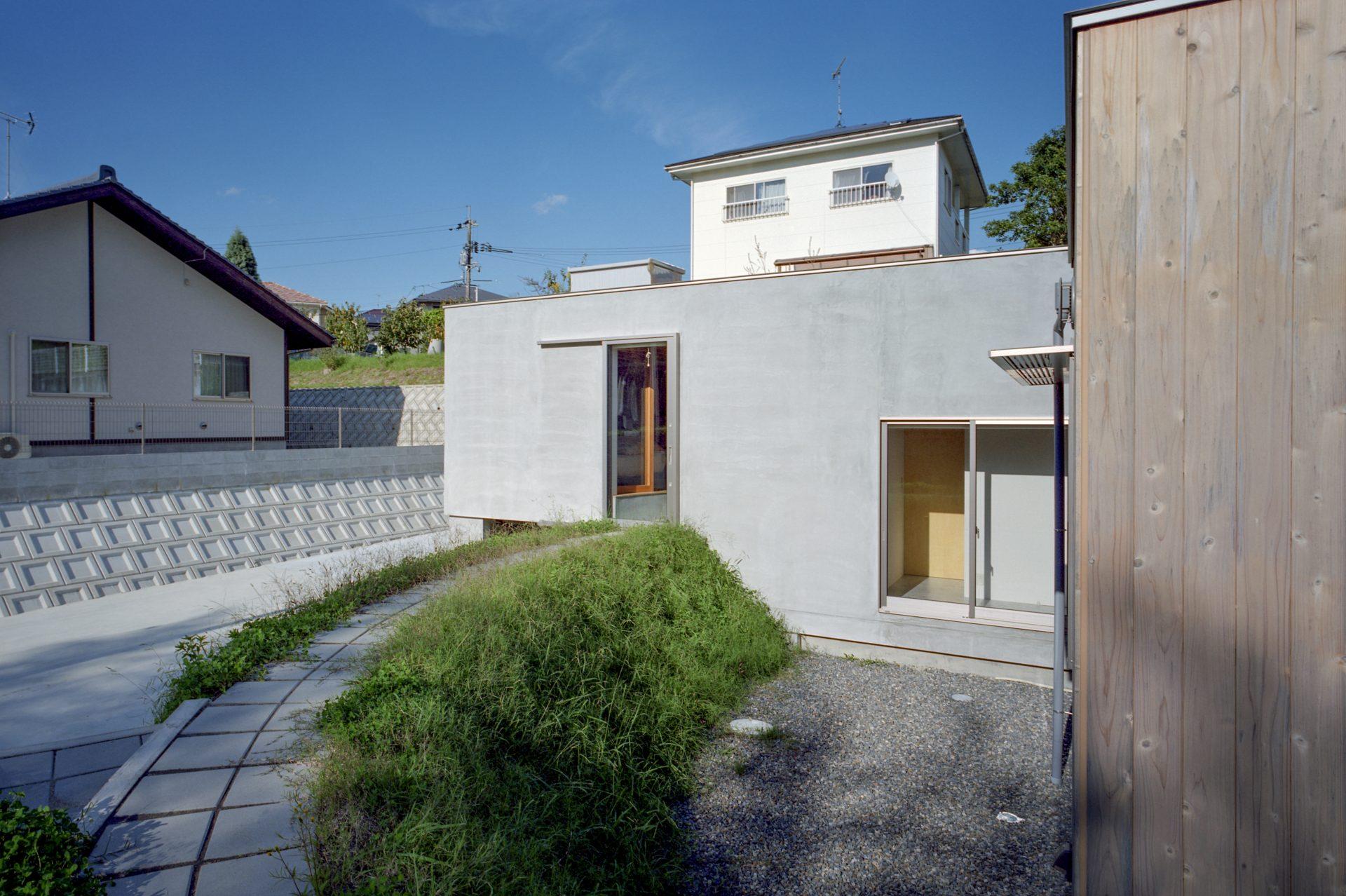 広島東広島の家の外観