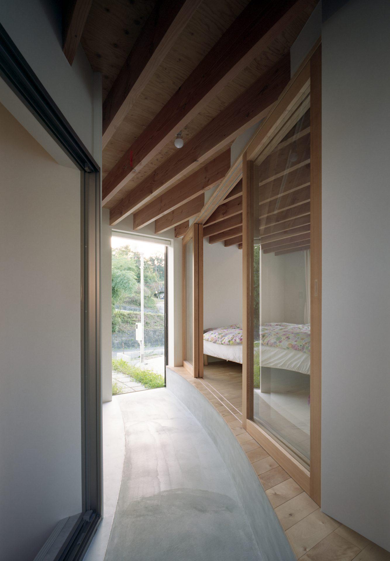 広島東広島の家の寝室