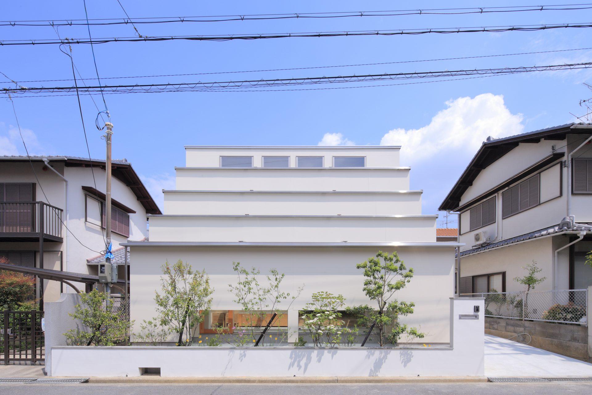 大阪茨木の家の外観