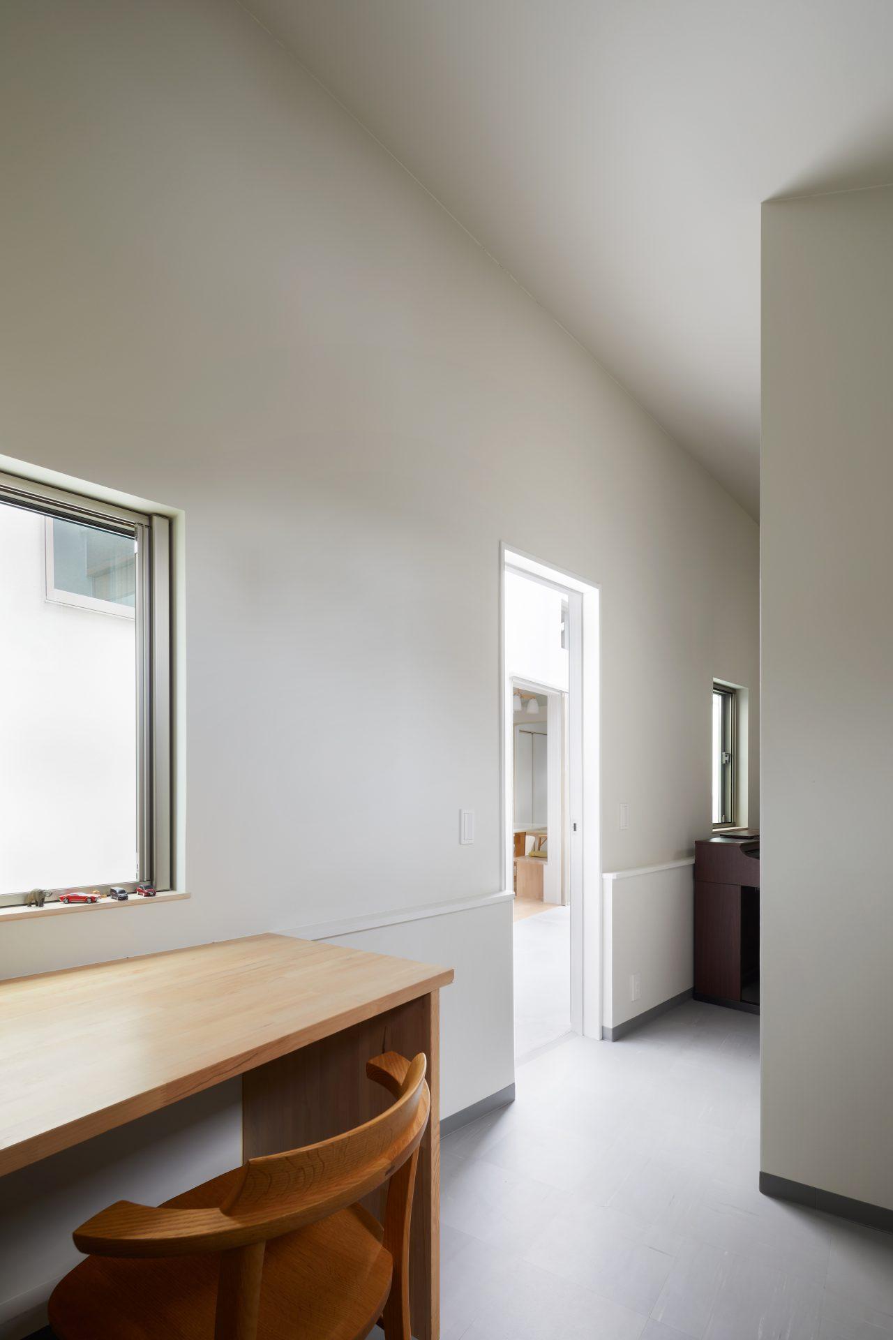 千葉市川の家の書斎