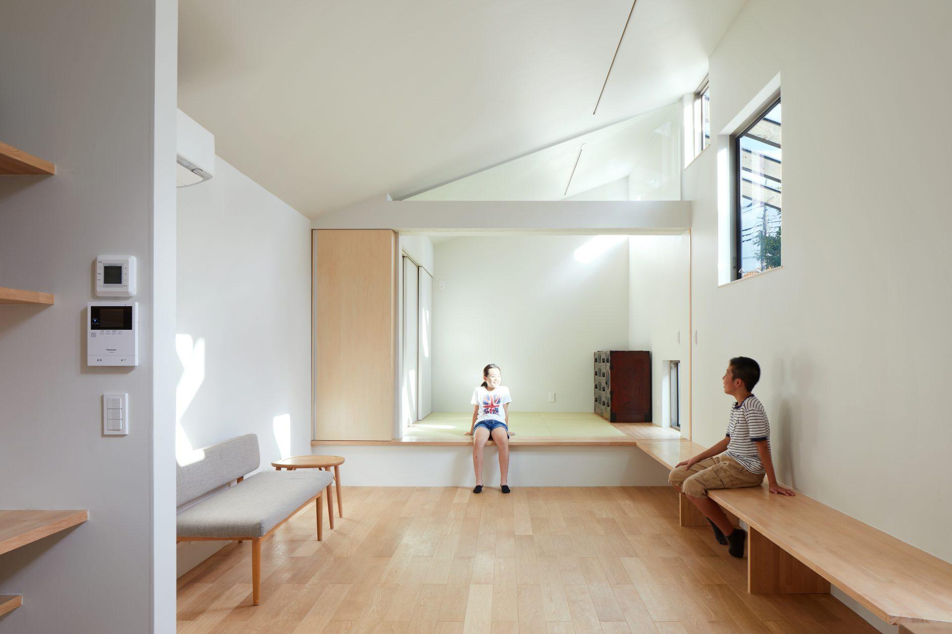 千葉市川の家のリビング01