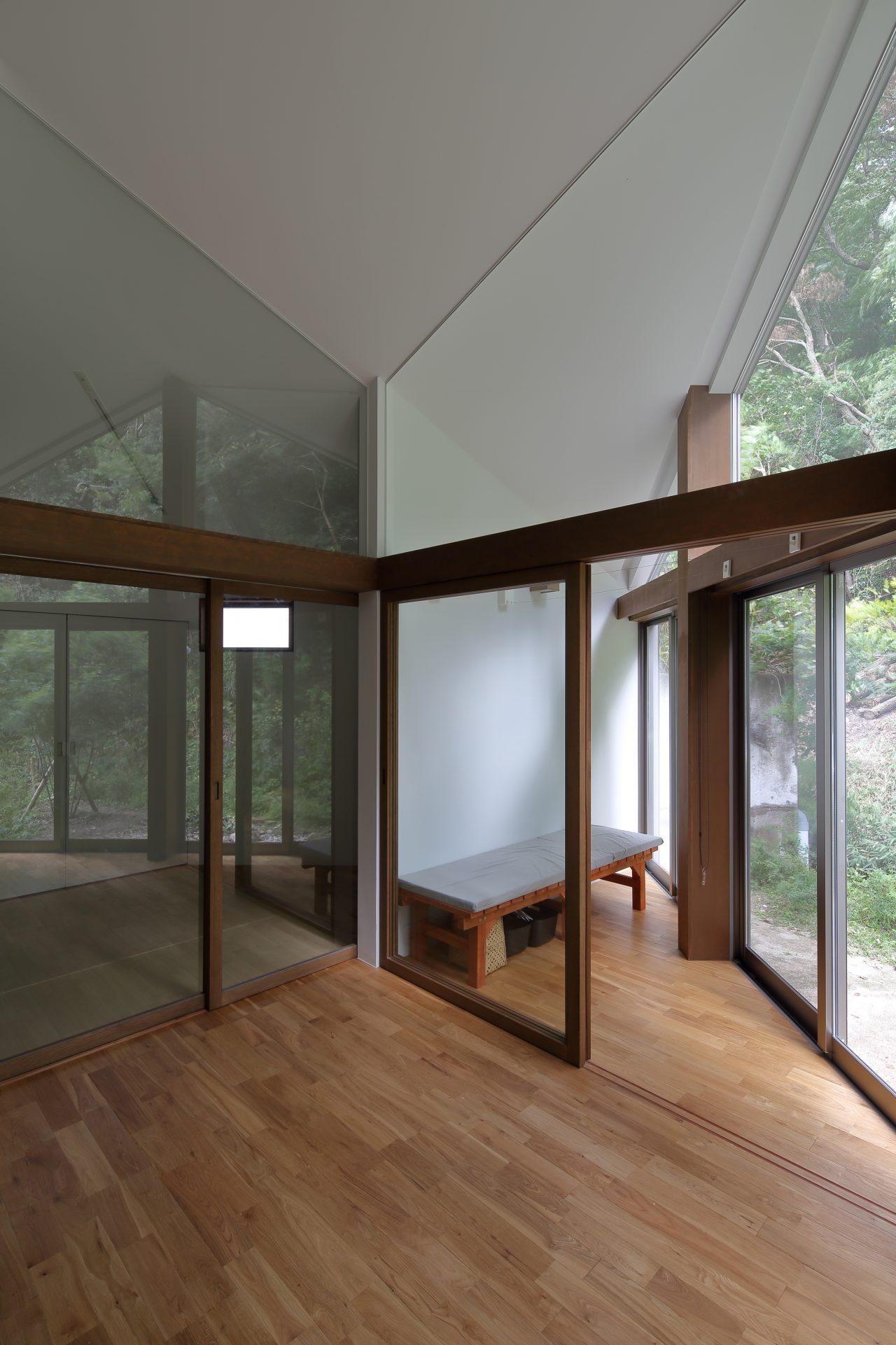 奈良生駒の家のリビング01