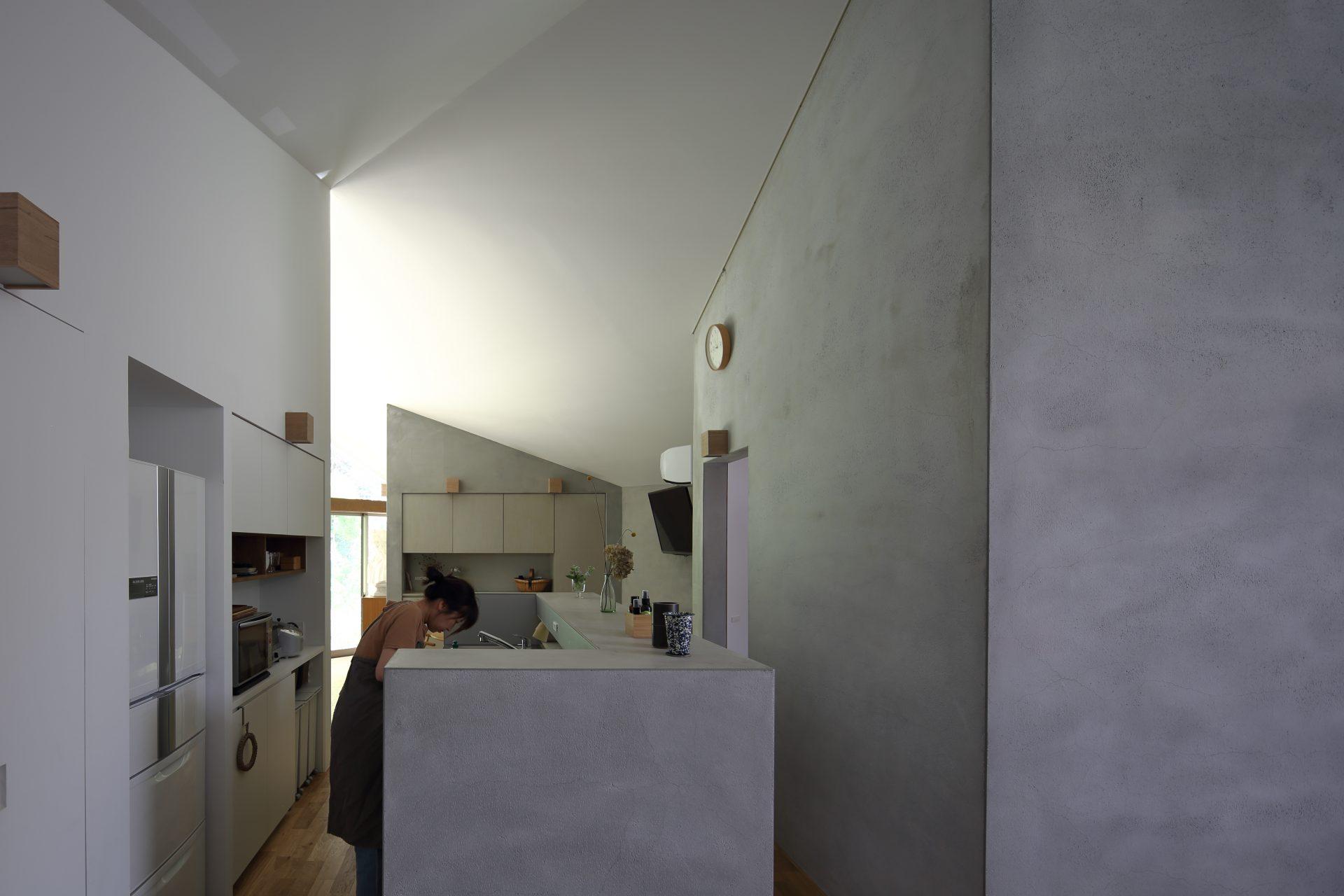 奈良生駒の家のキッチン02