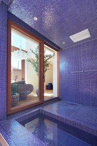 大阪帝塚山の家の浴室02