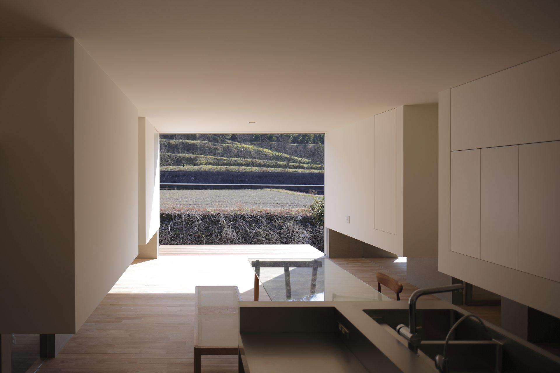 徳島板野の家のLDK01