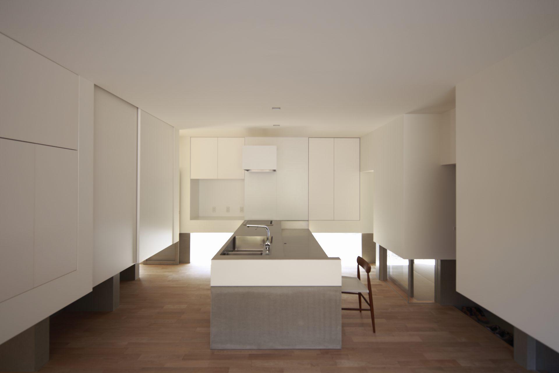 徳島板野の家のLDK04