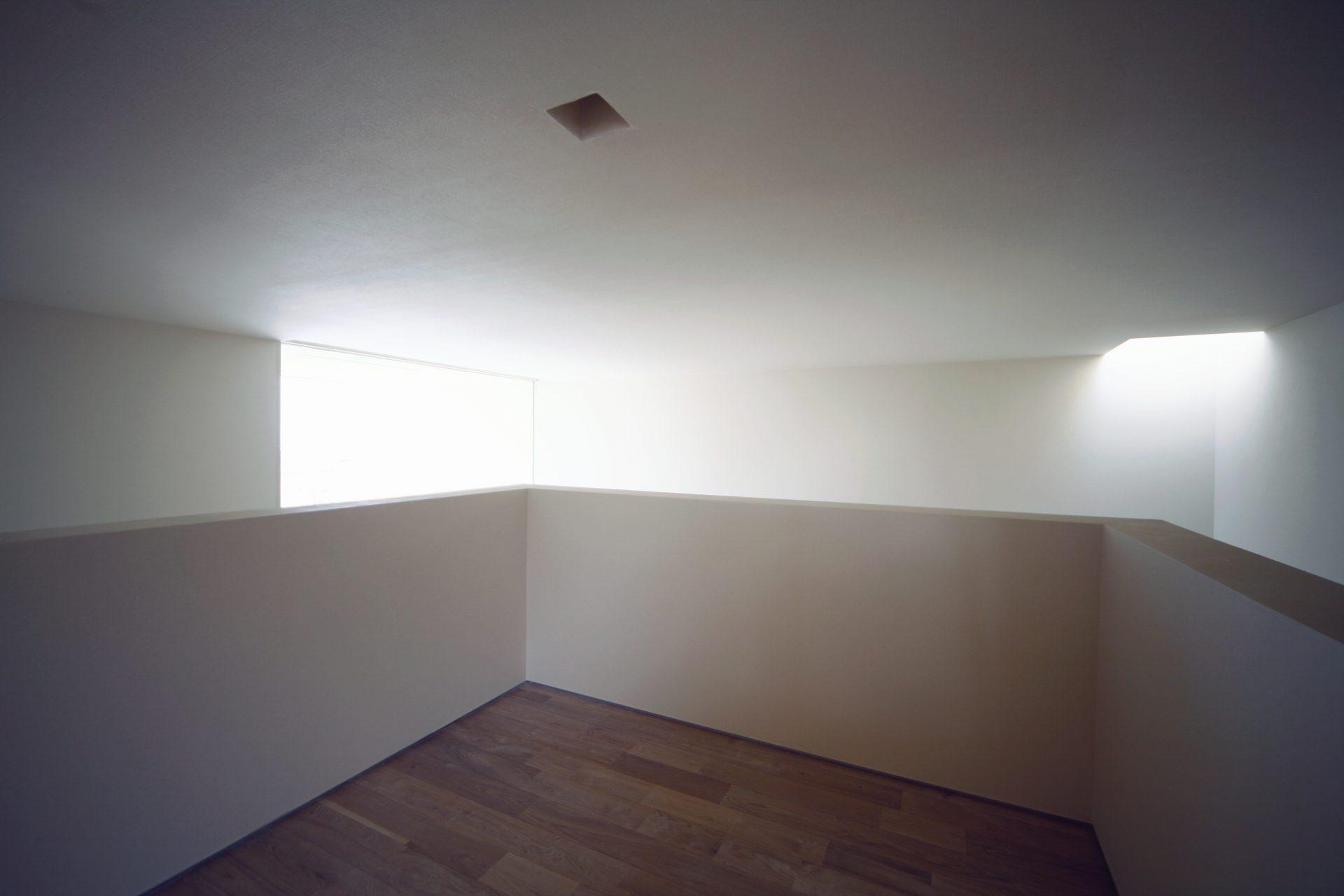 大阪和泉の家のスキップフロア02