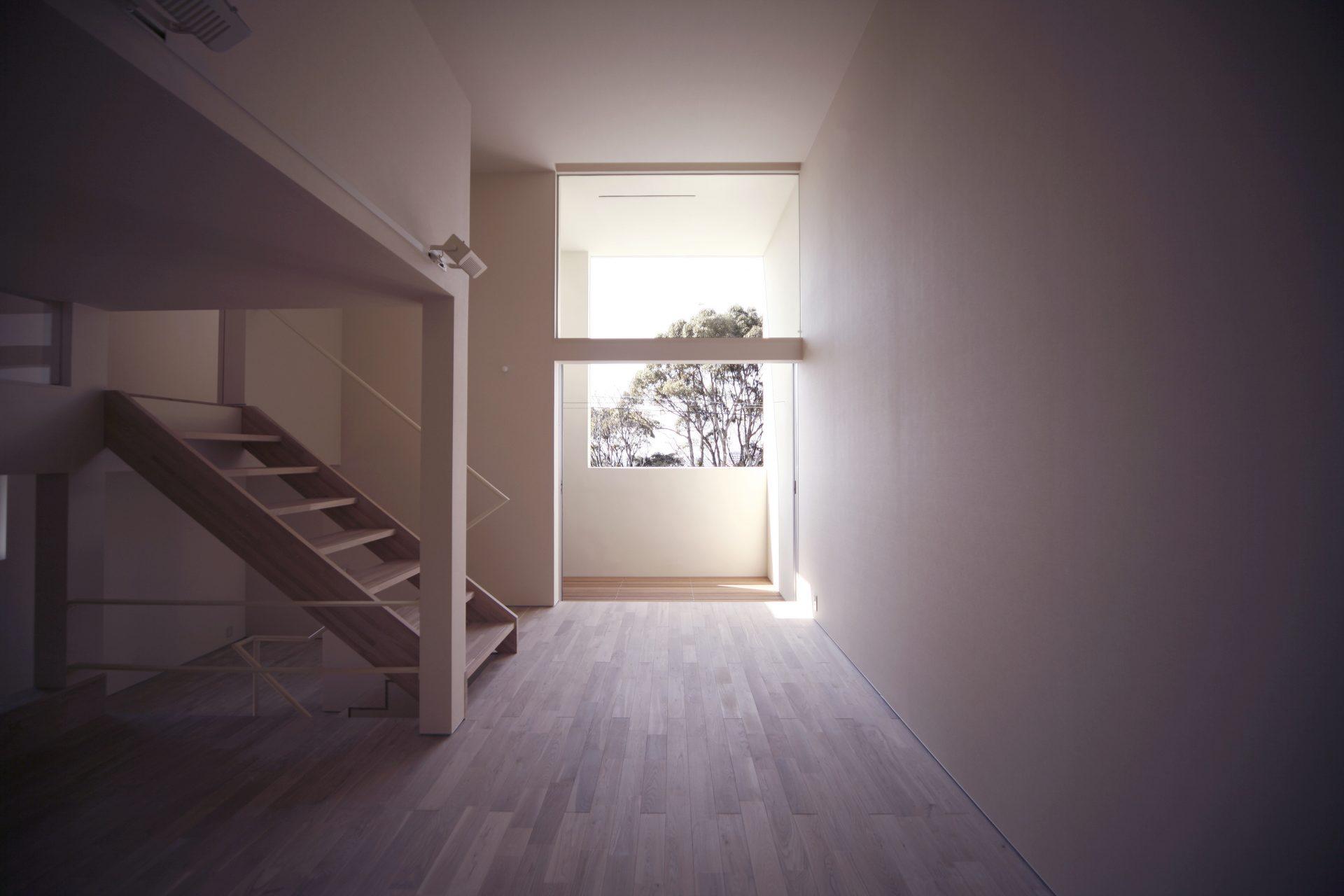 大阪和泉の家の階段