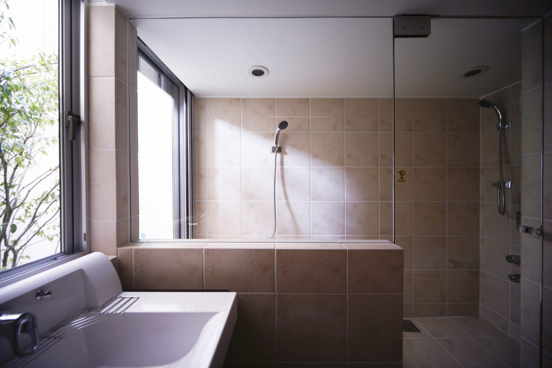 大阪和泉の家の浴室