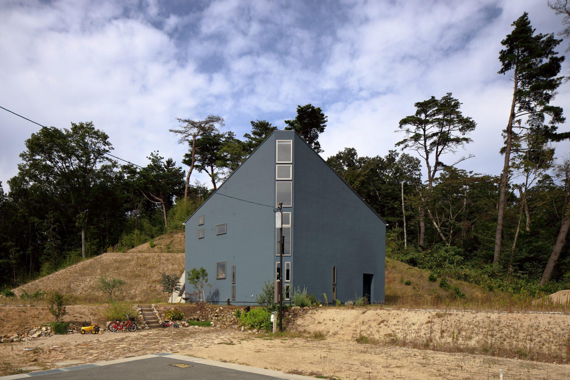 兵庫神戸北の家の外観01