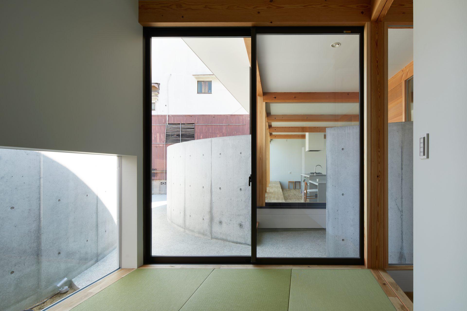 大阪此花の家の和室