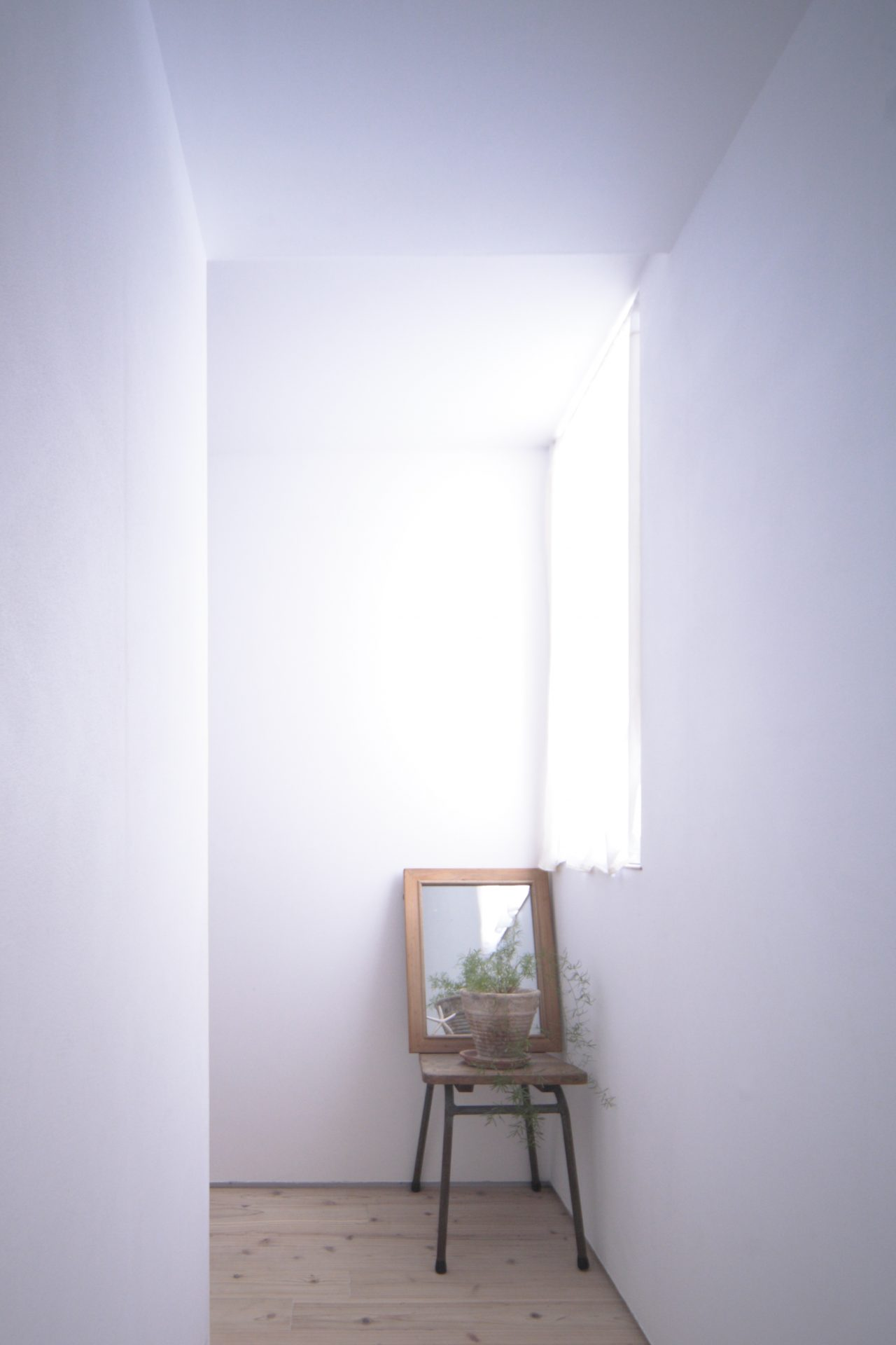 兵庫三田の家の廊下