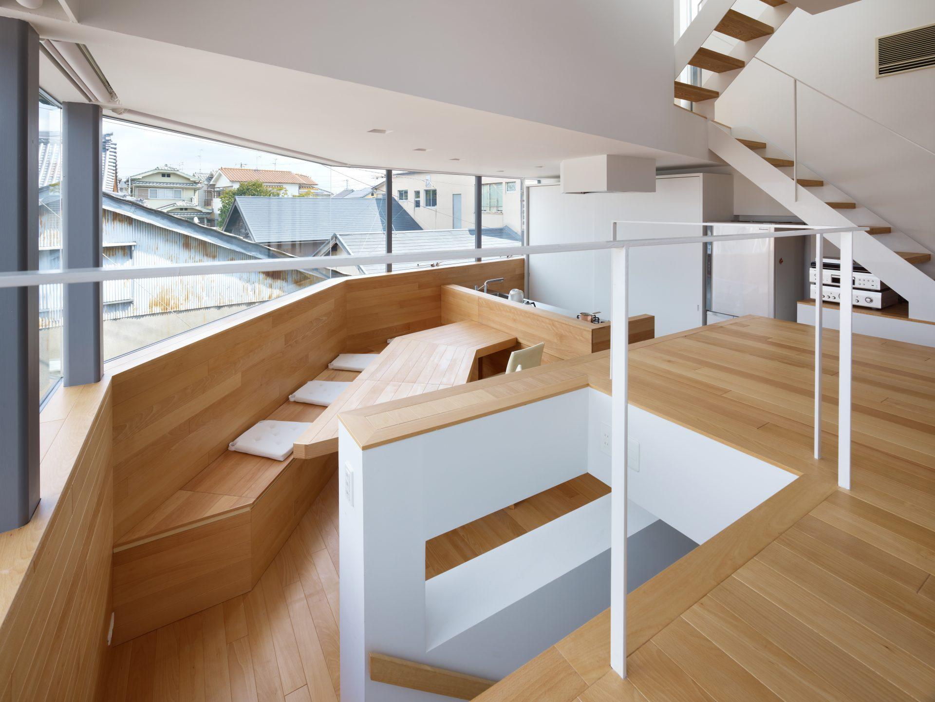 大阪松原の家のLDK01