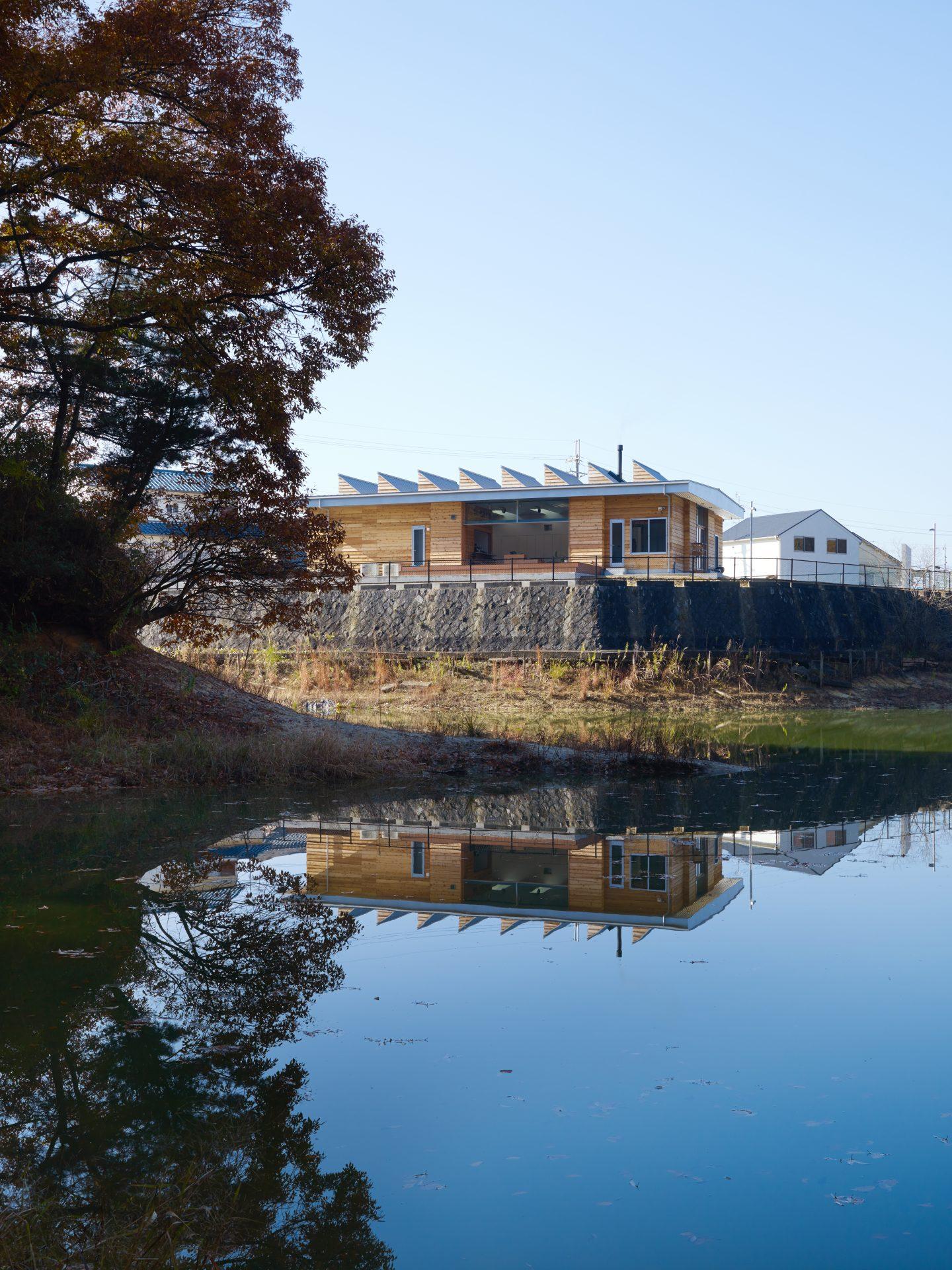 大阪南河内の家の外観01