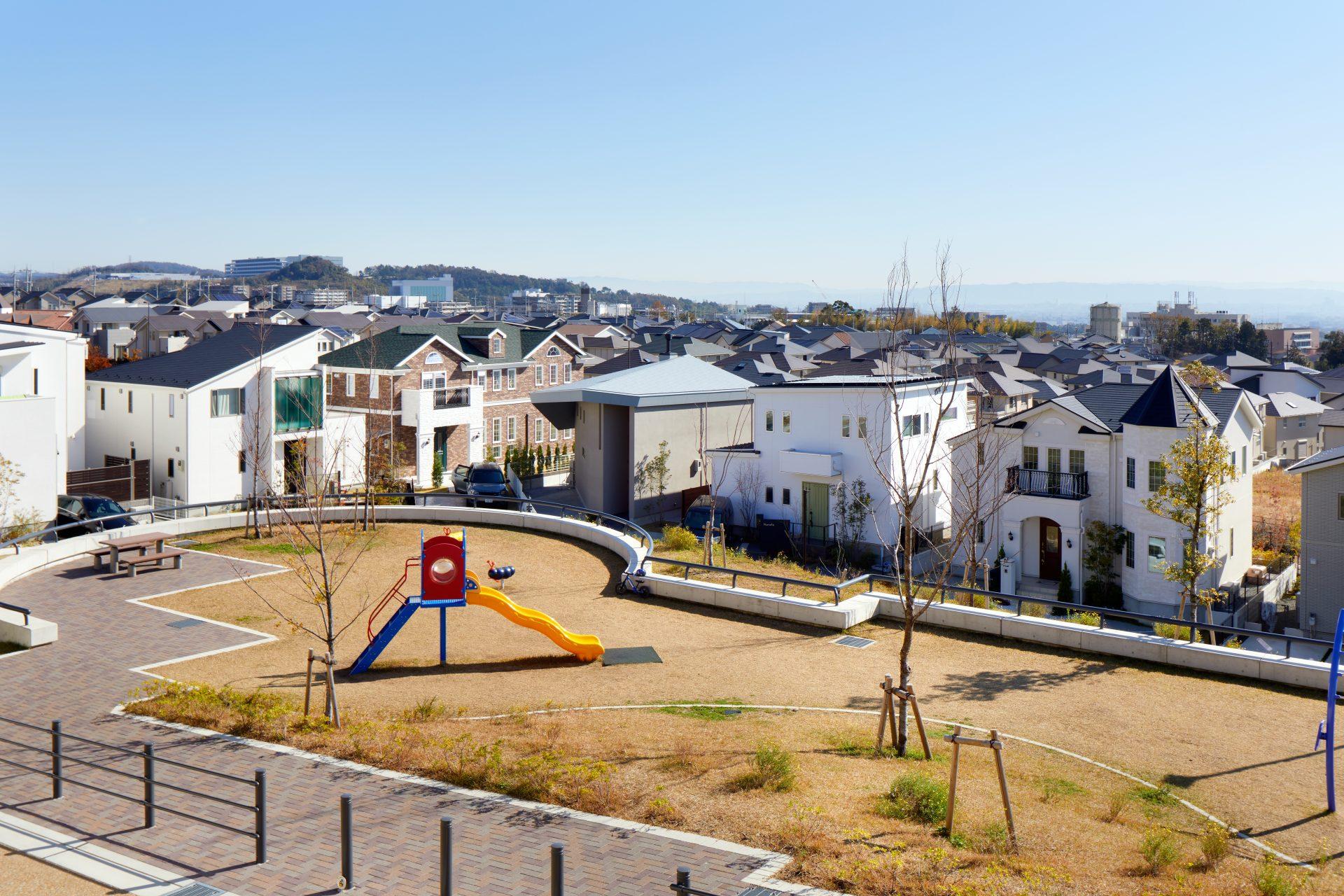 大阪箕面北の家の周辺