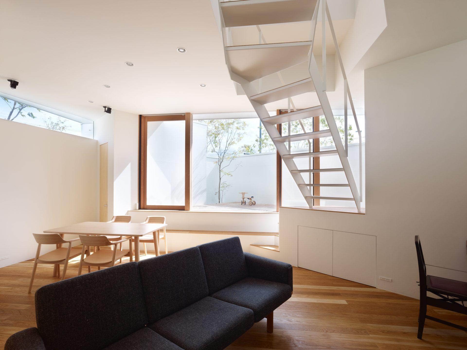 大阪箕面の家のLDK01