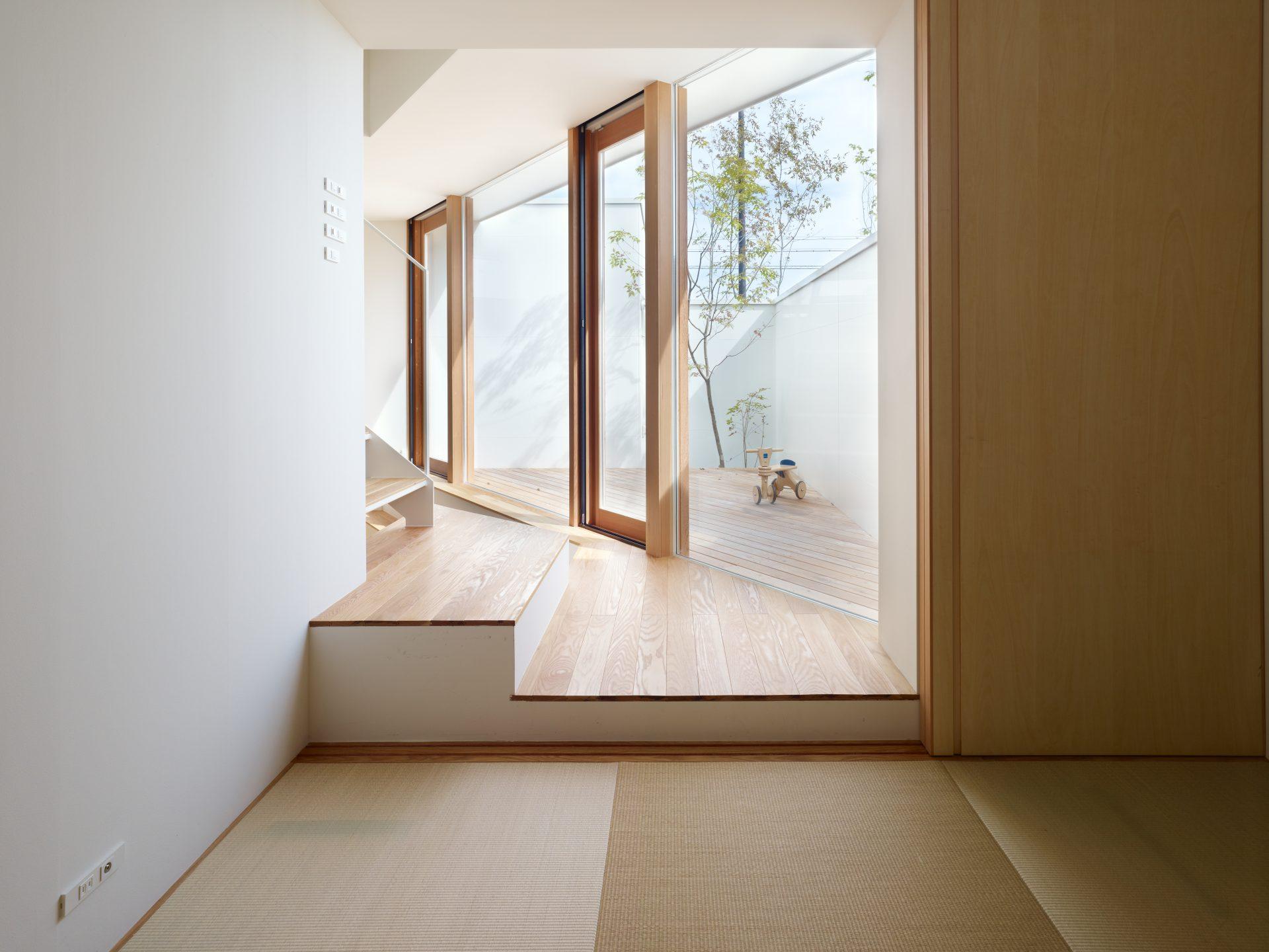 大阪箕面の家の和室