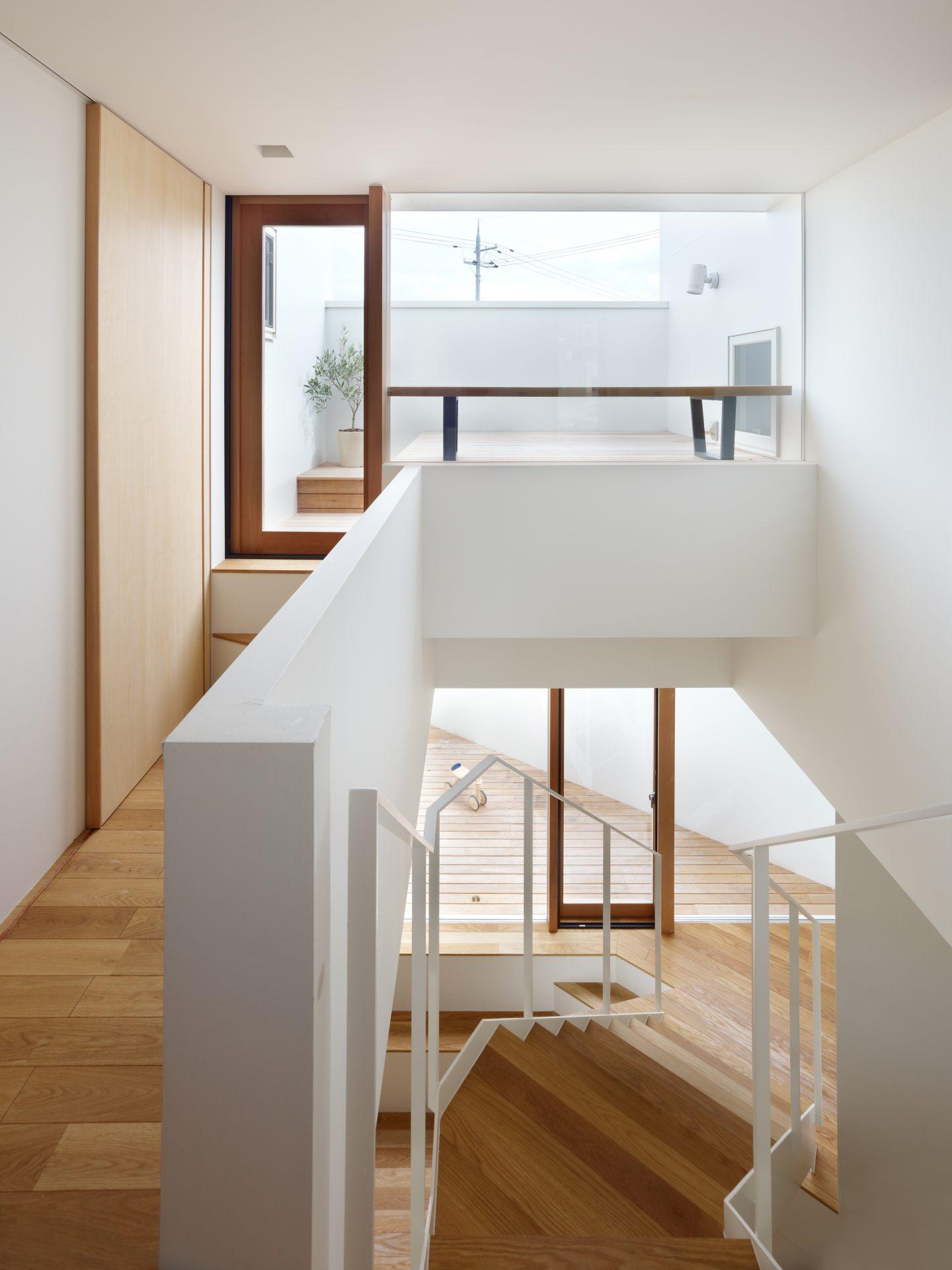 大阪箕面の家の2階