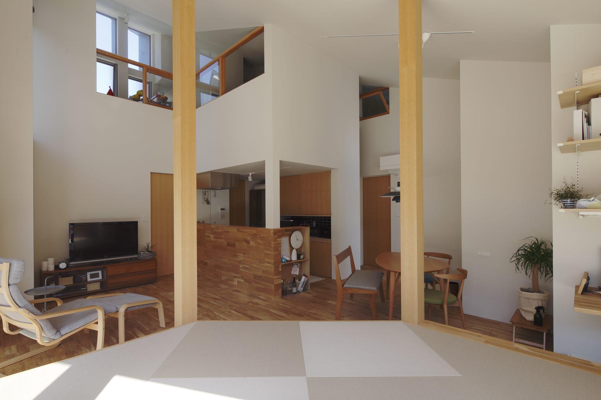 京都向日の家の和室