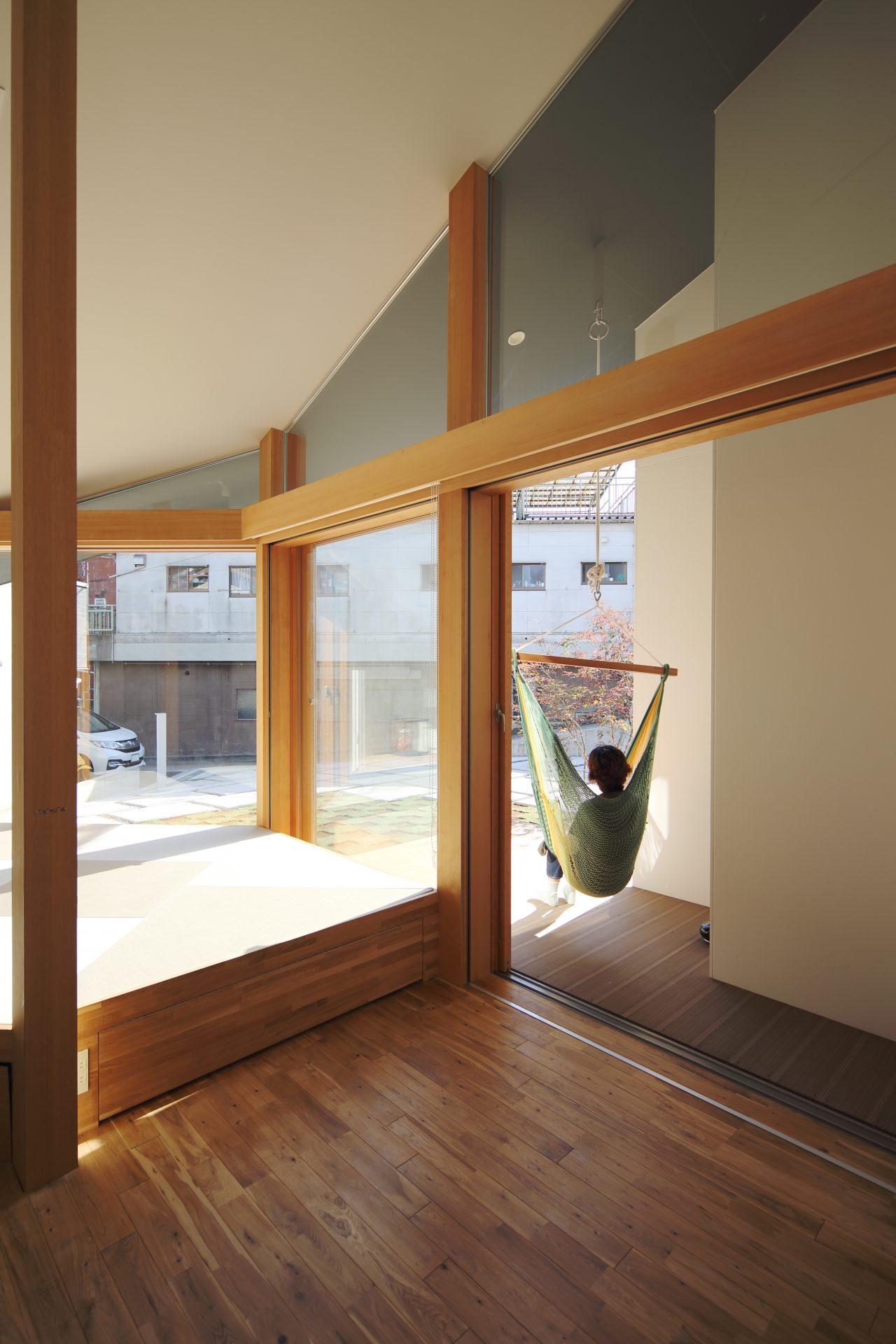 京都向日の家のリビング03